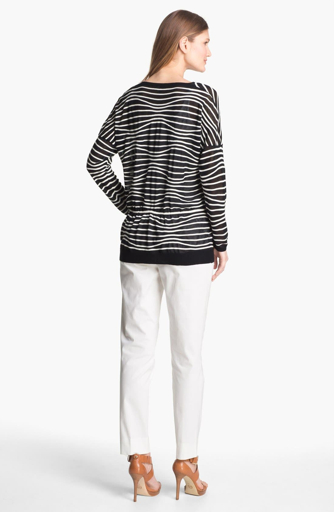 Alternate Image 5  - Lafayette 148 New York Drawstring Waist Sweater