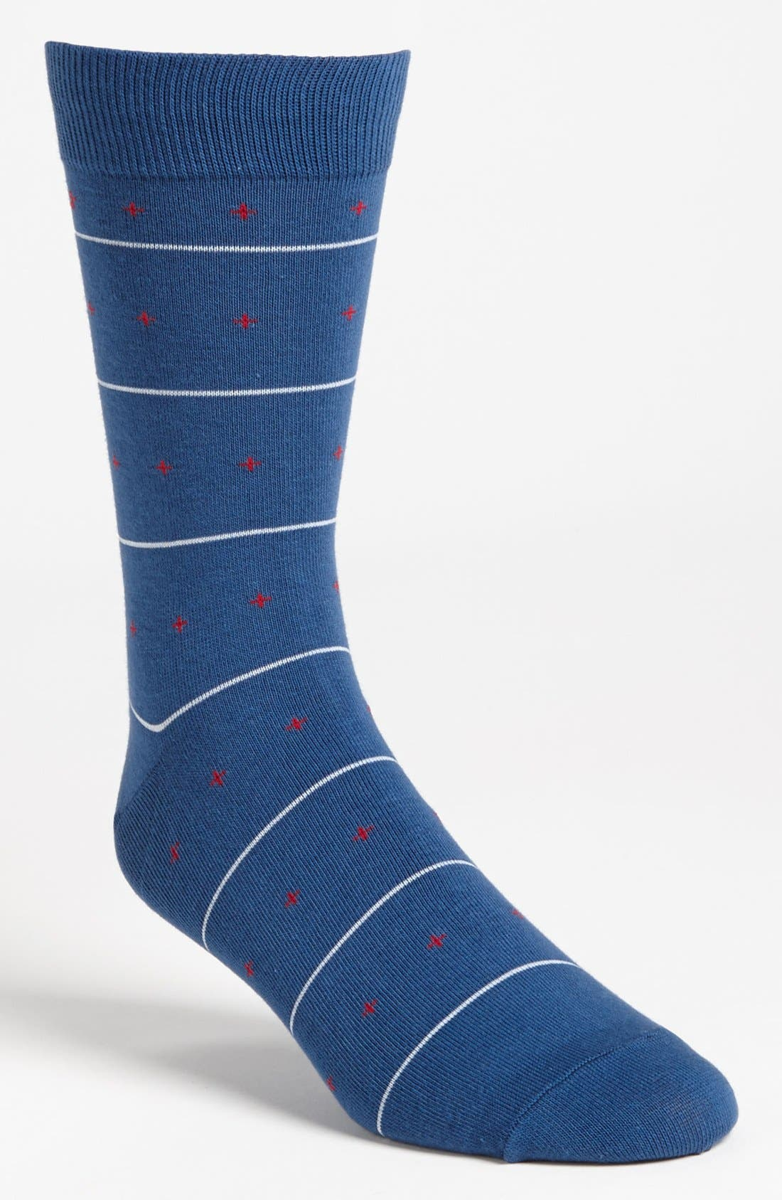'Tourist' Socks,                         Main,                         color, Navy