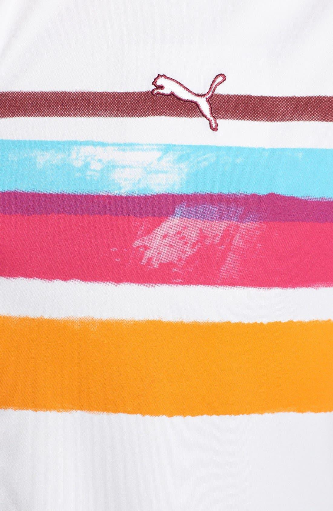 Alternate Image 3  - PUMA GOLF 'Watercolor Stripe' dryCELL™ Polo
