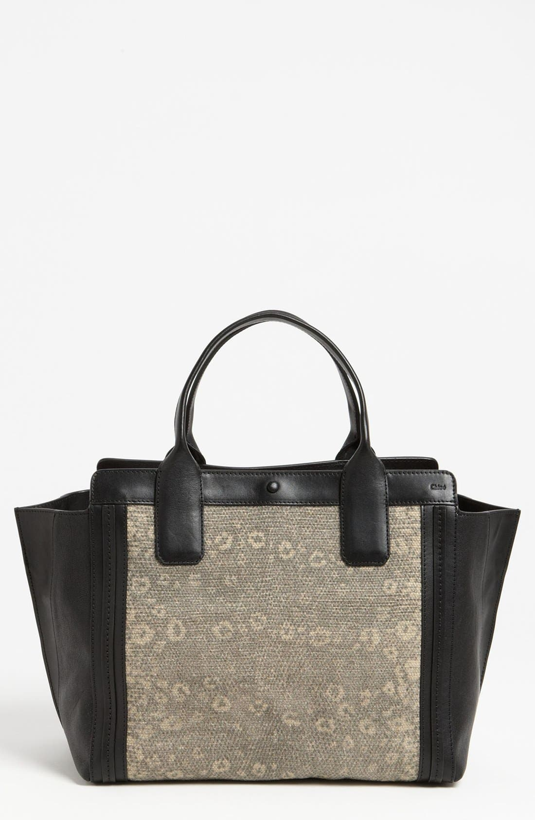 Alternate Image 1 Selected - Chloé 'Alison - Lizard' Print Tote