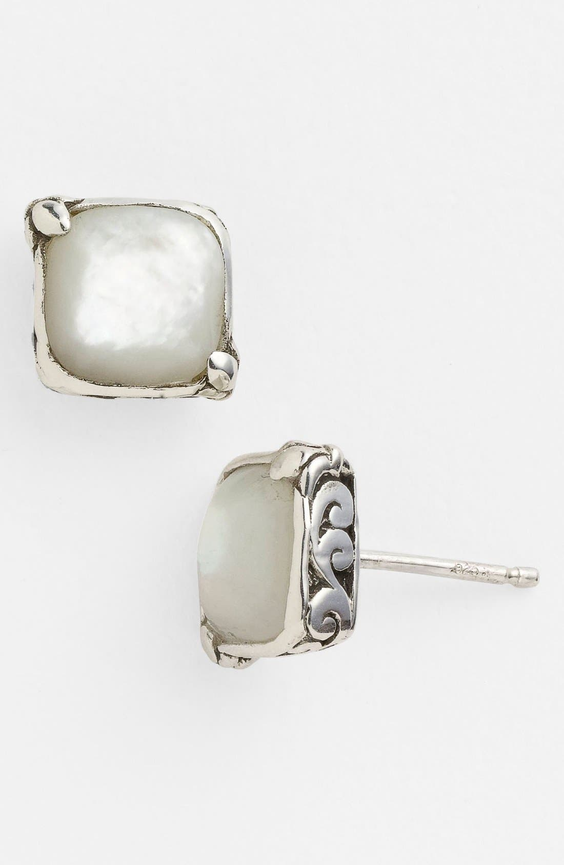Alternate Image 1 Selected - Lois Hill Mother-of-Pearl Stud Earrings
