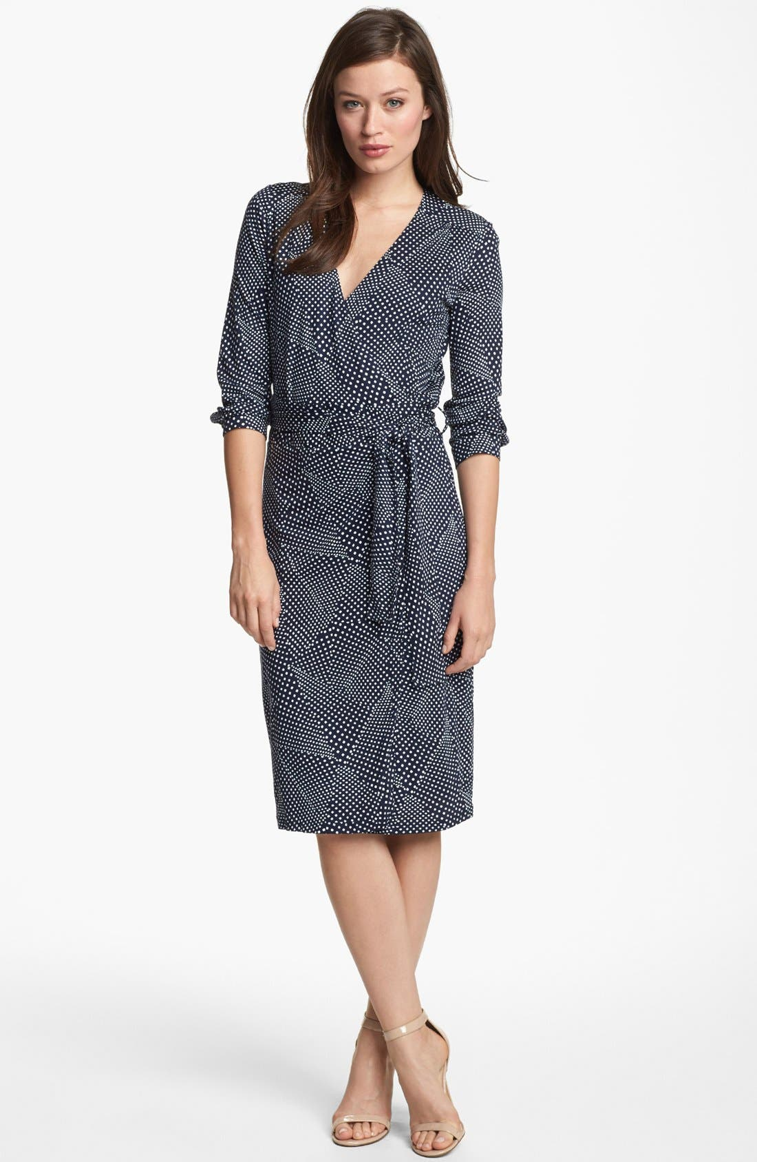 Main Image - BOSS HUGO BOSS Jersey Wrap Dress