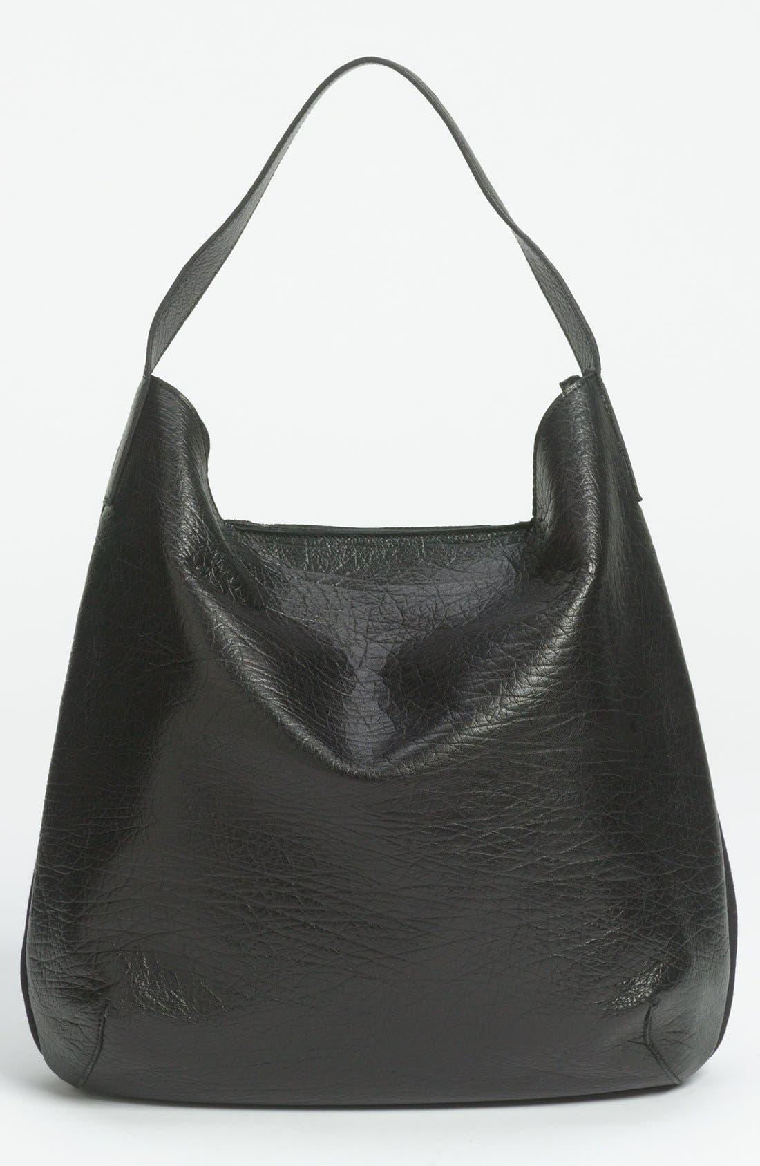 Alternate Image 4  - Marni Bicolor Leather & Fabric Hobo