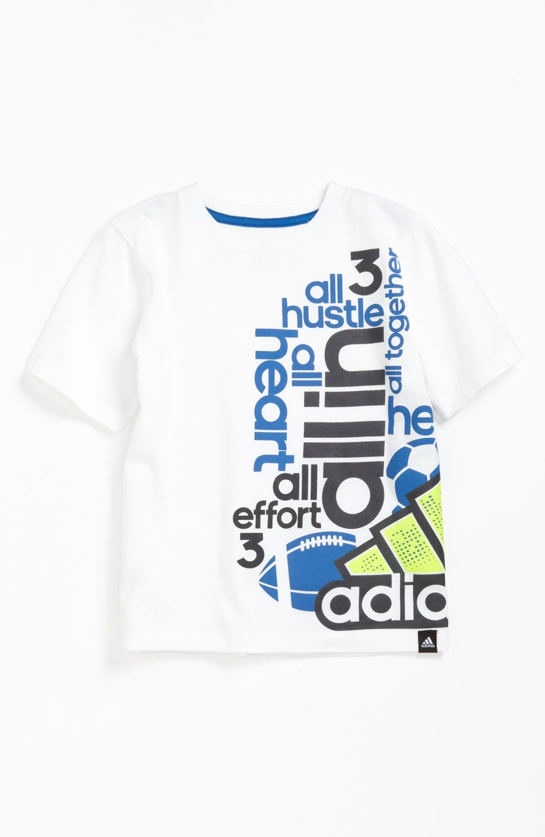 Alternate Image 1 Selected - adidas 'All In' T-Shirt (Little Boys) (Online Only)