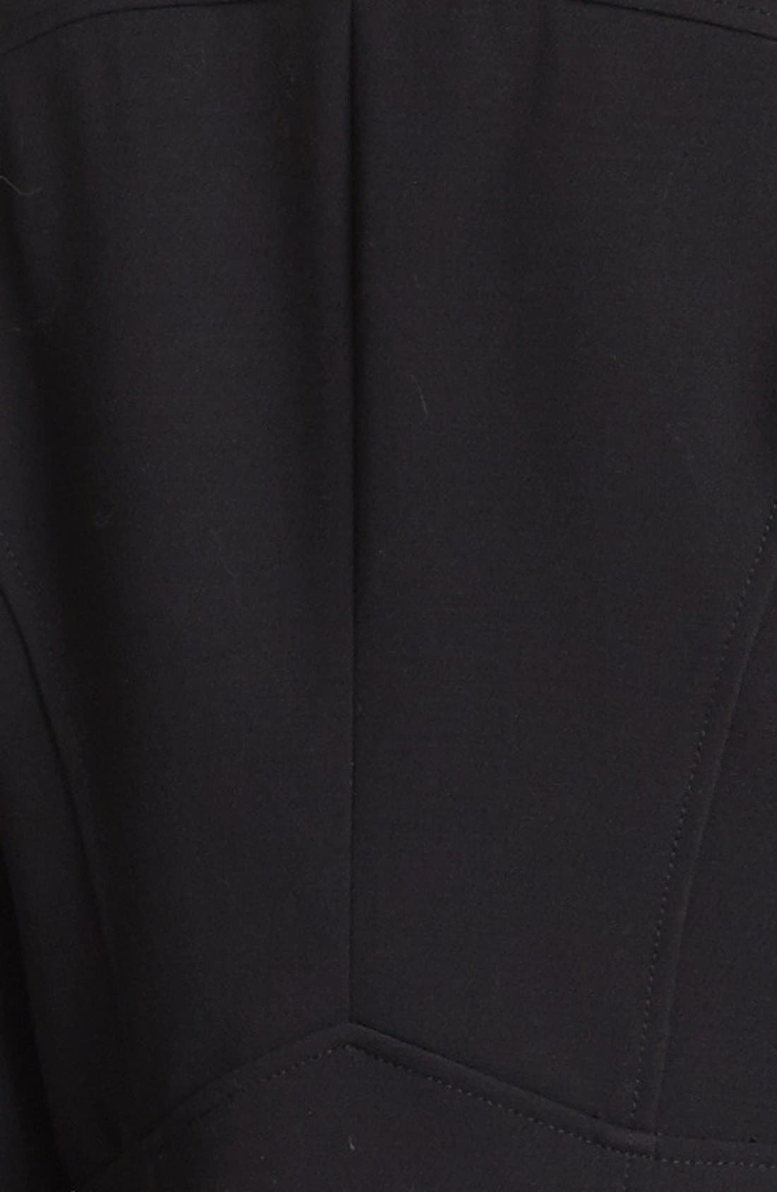 Alternate Image 4  - MICHAEL Michael Kors Knit Moto Jacket