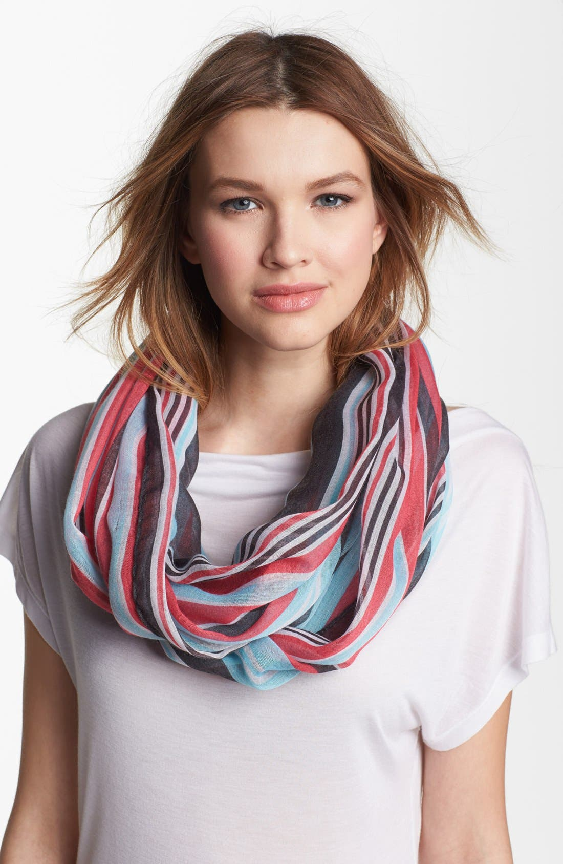 Alternate Image 1 Selected - Tasha 'Stripe It Rich' Infinity Scarf