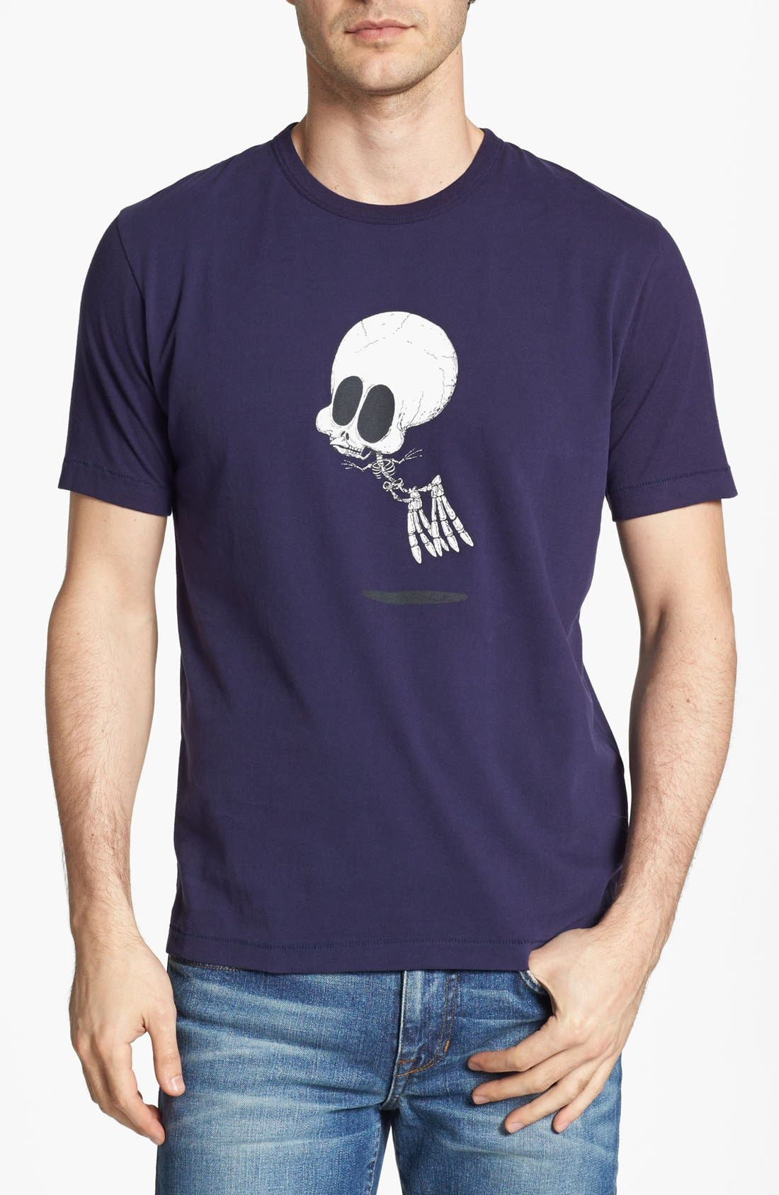 Alternate Image 1 Selected - French Connection 'Flying Skull' T-Shirt