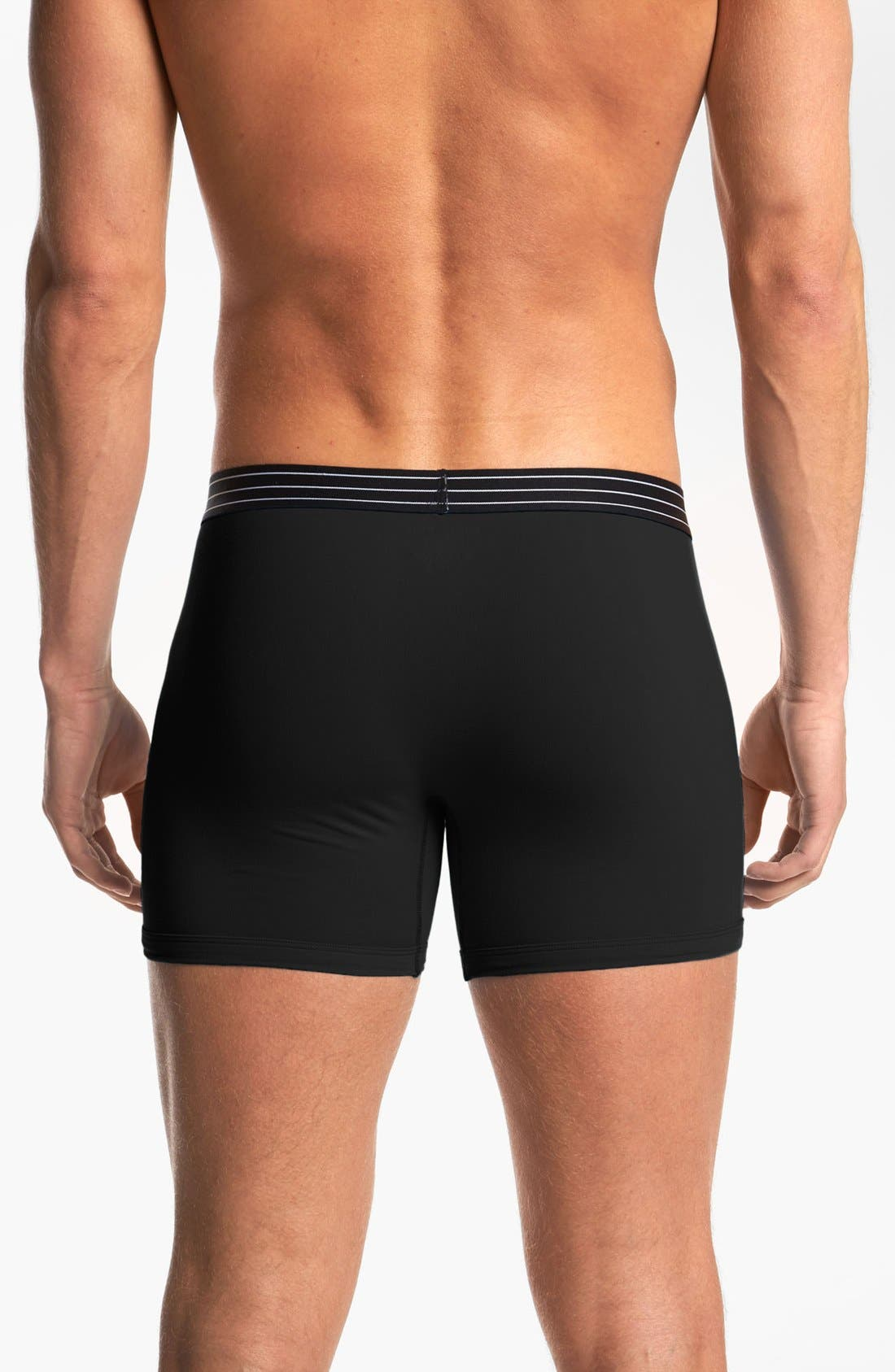 Alternate Image 2  - Michael Kors Microfiber Boxer Briefs
