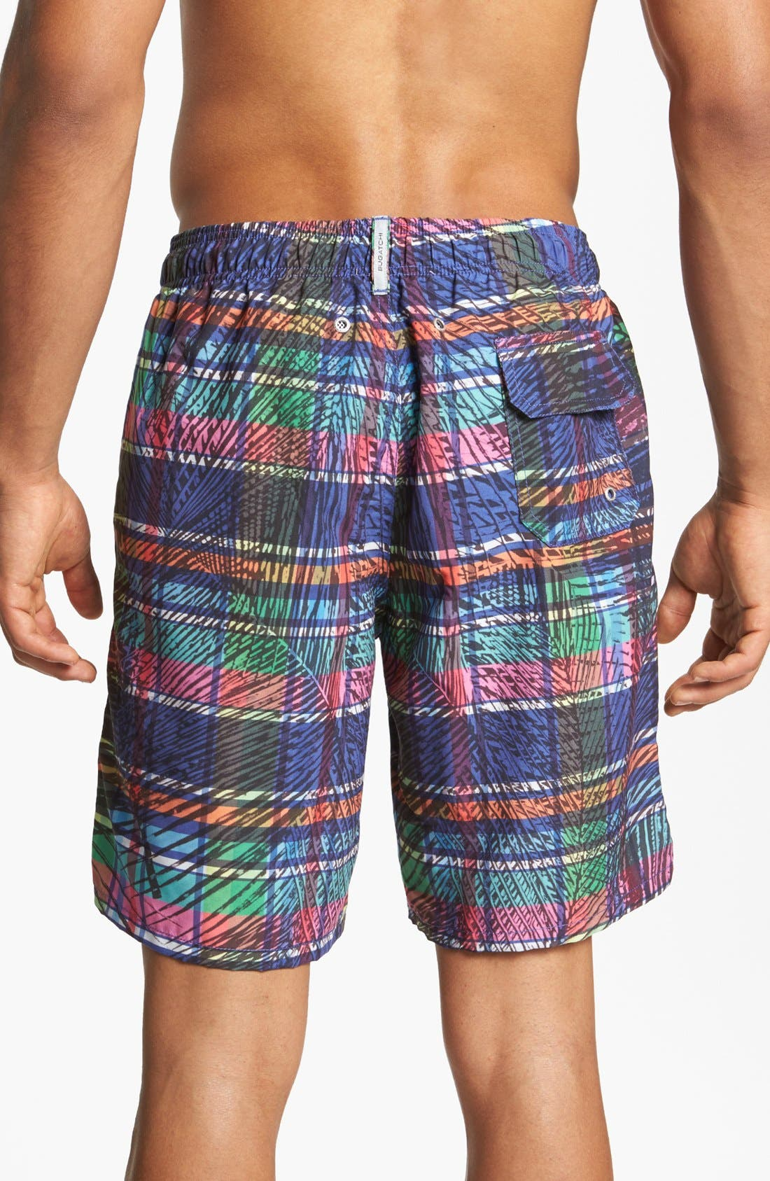 Alternate Image 2  - Bugatchi Uomo Swim Trunks