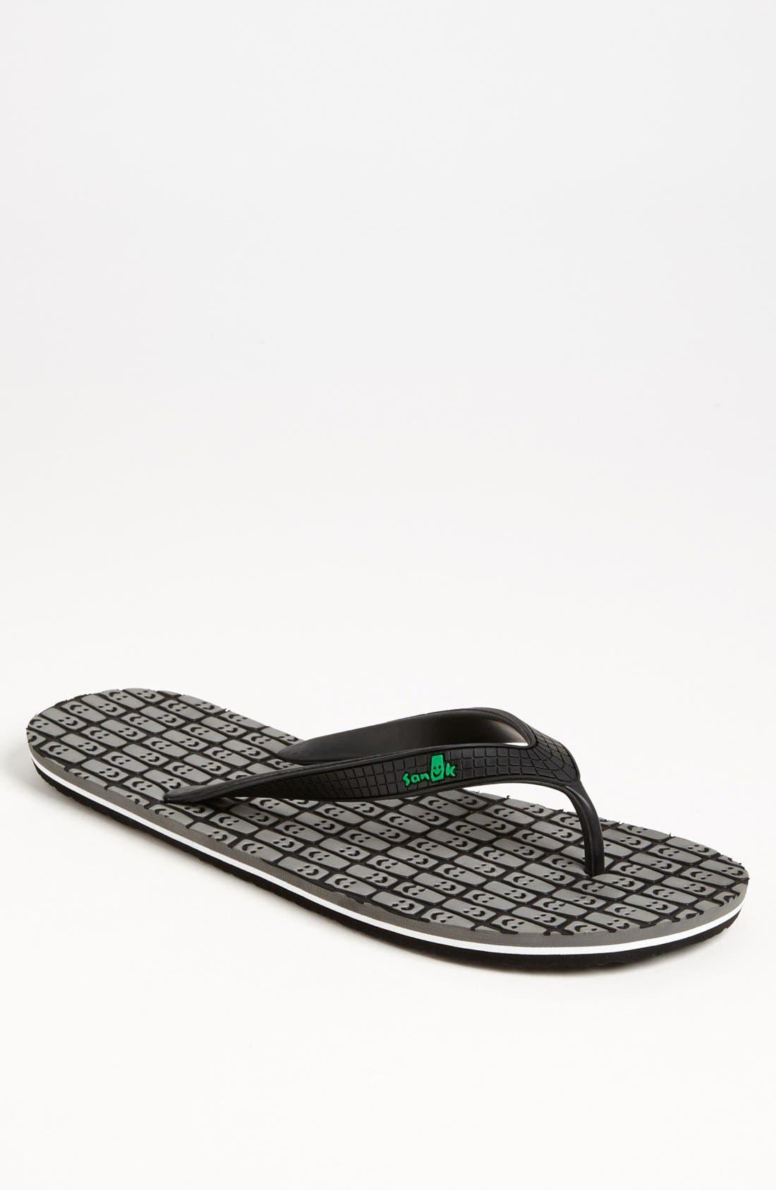 Alternate Image 1 Selected - Sanuk 'Tiki' Flip Flop (Men)