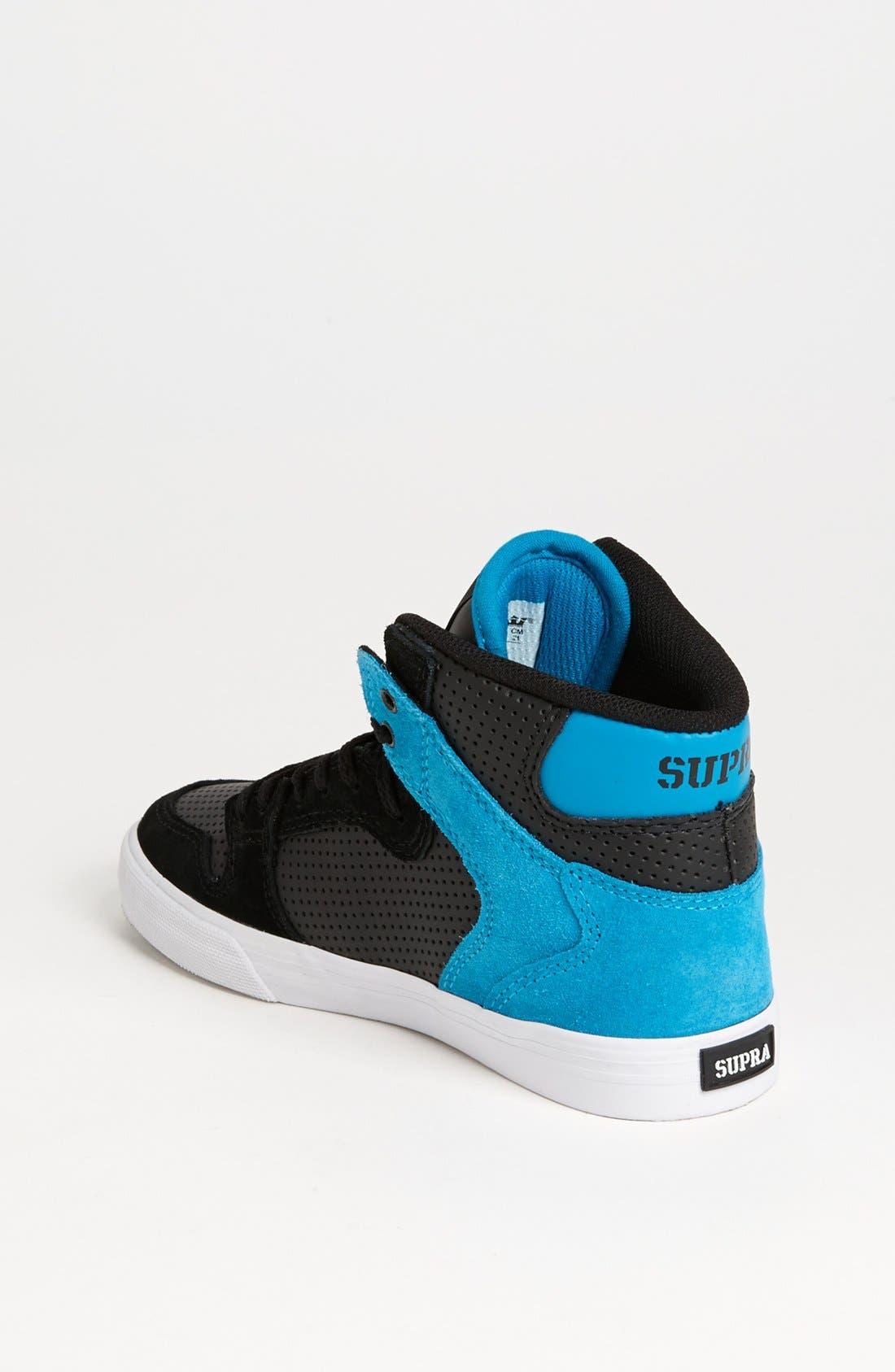 Alternate Image 2  - Supra 'Vaider' Sneaker (Toddler, Little Kid & Big Kid)