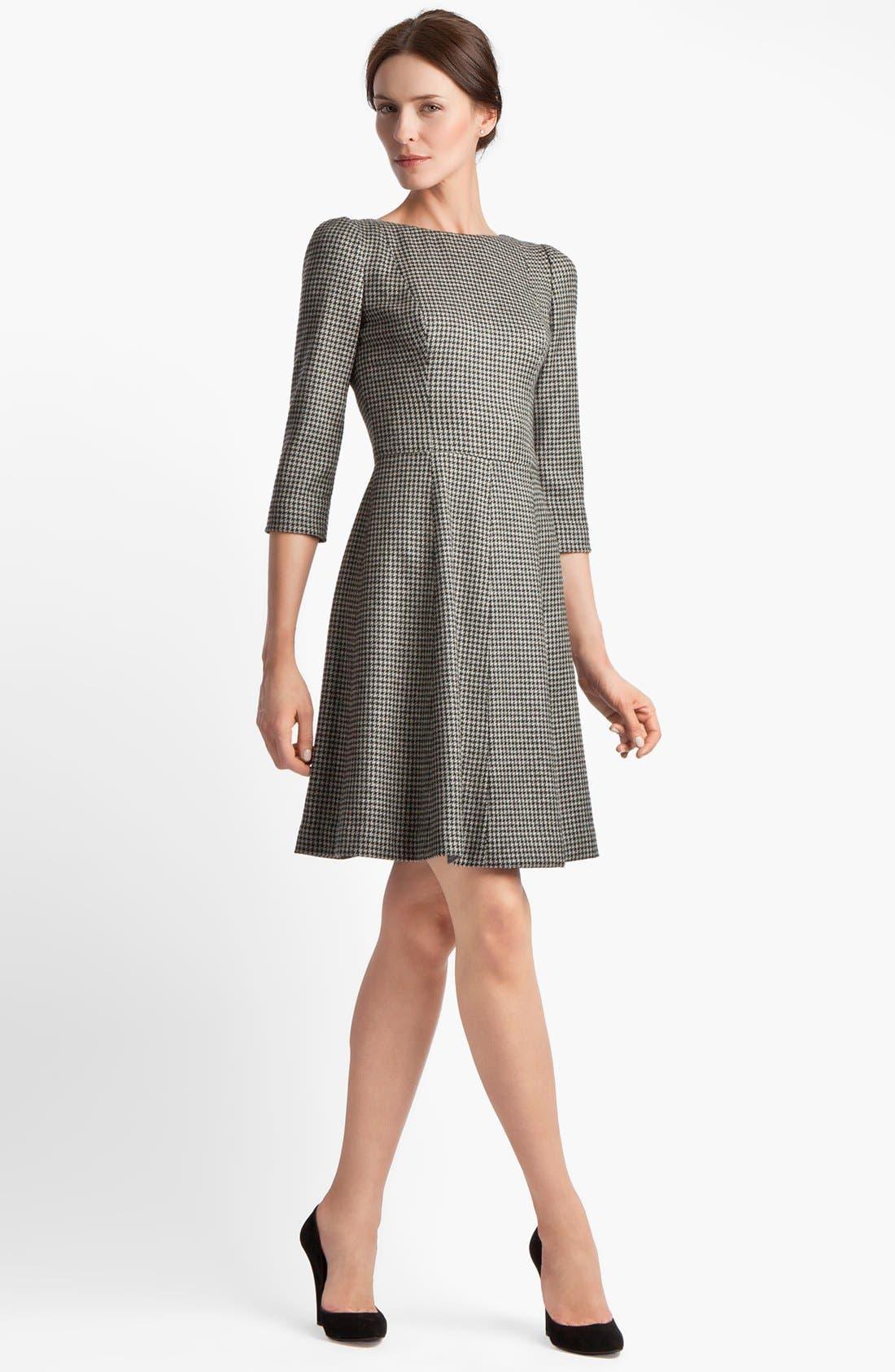 Alternate Image 1 Selected - Dolce&Gabbana Stretch Houndstooth Dress