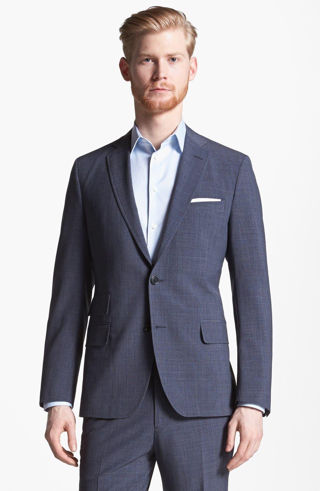 Alternate Image 1 Selected - Billy Reid 'Campbell' Glen Plaid Wool Suit