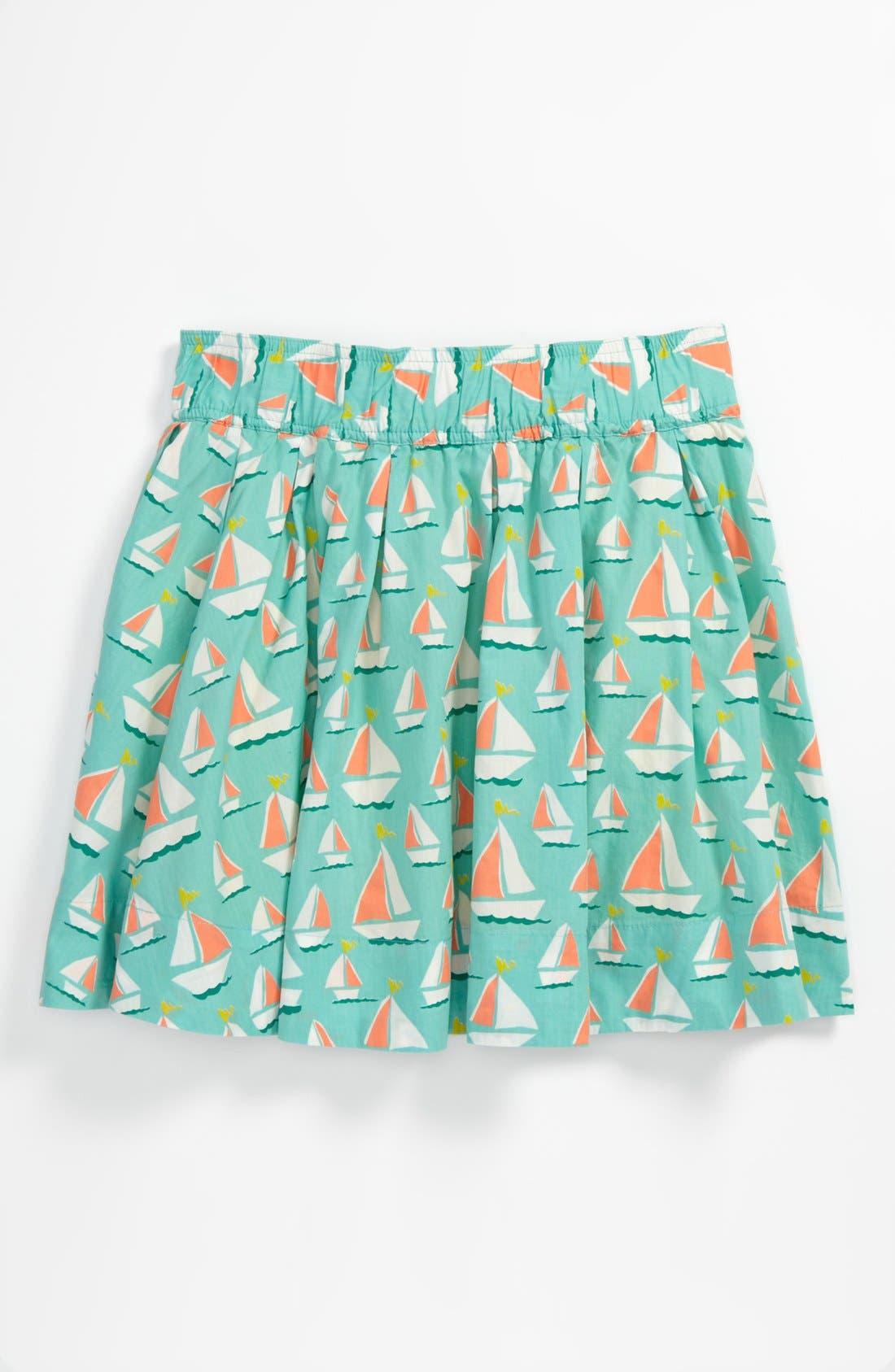 Alternate Image 1 Selected - Johnnie B by Boden Full Skirt (Big Girls)