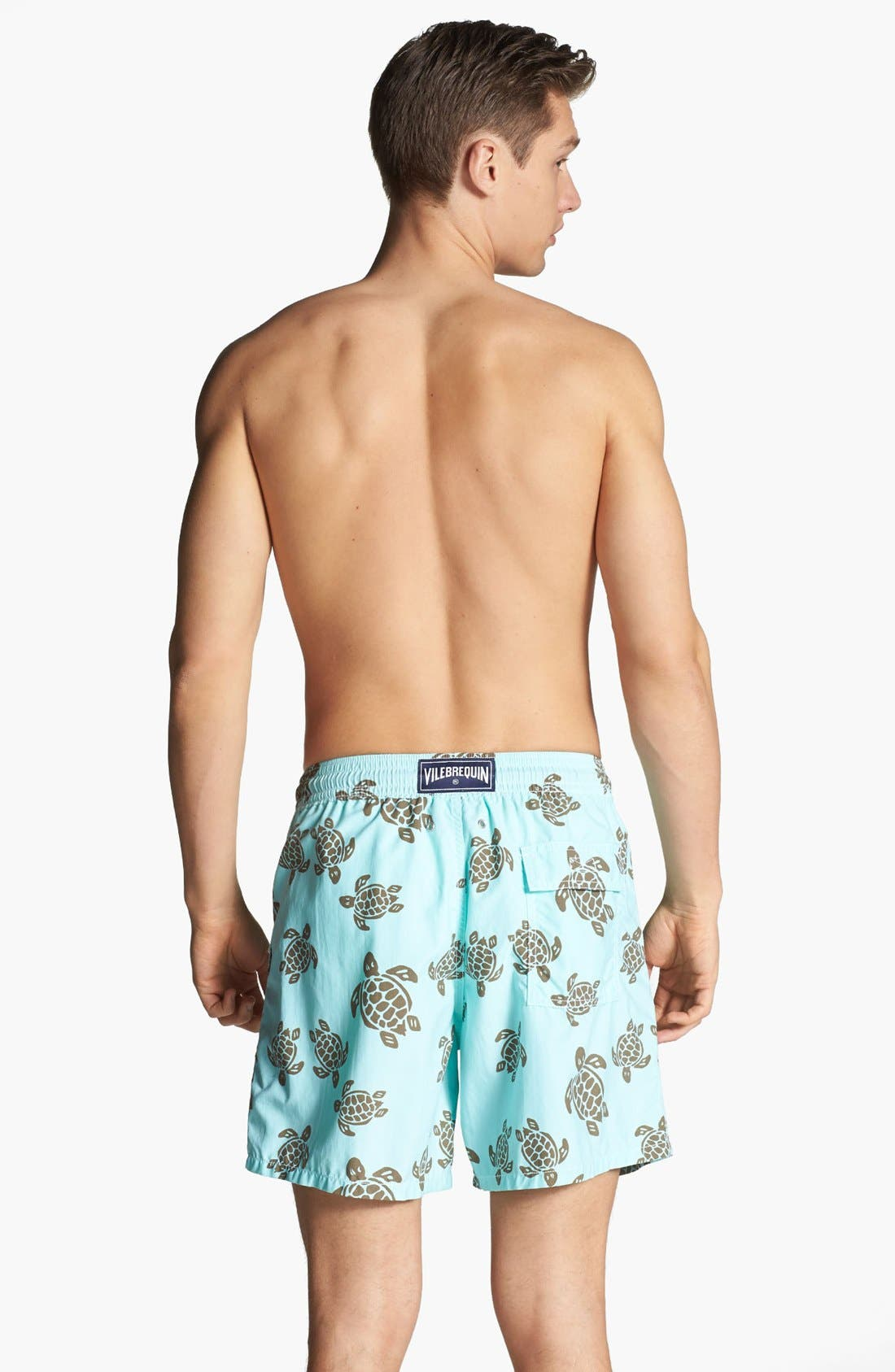 Alternate Image 2  - Vilebrequin 'Moorea' Turtle Print Swim Trunks