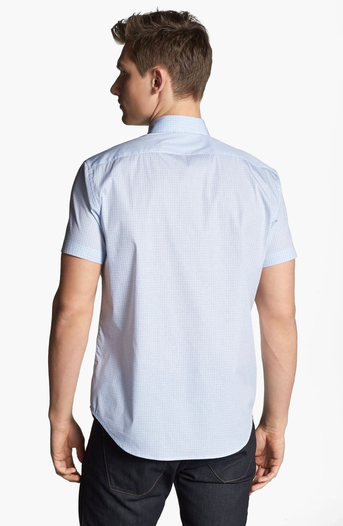 Alternate Image 2  - Theory 'Frasir Zack' Short Sleeve Sport Shirt