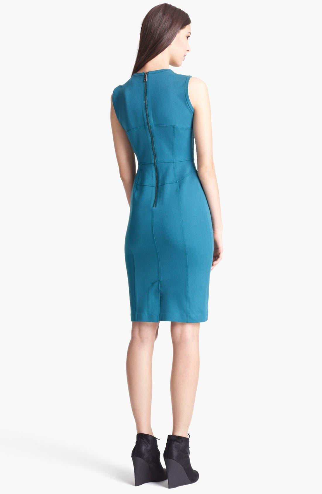 Alternate Image 2  - Burberry London Jersey Dress