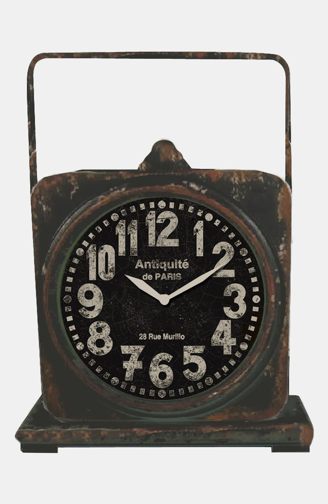 Alternate Image 1 Selected - Iron Mantel Clock (Nordstrom Exclusive)