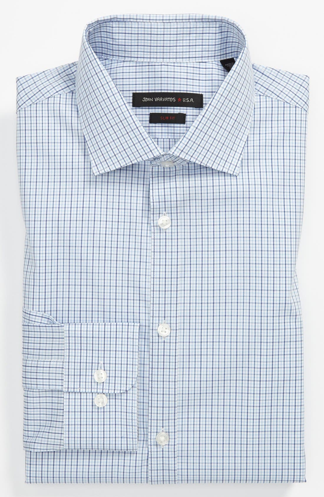Main Image - John Varvatos Star USA Slim Fit Dress Shirt