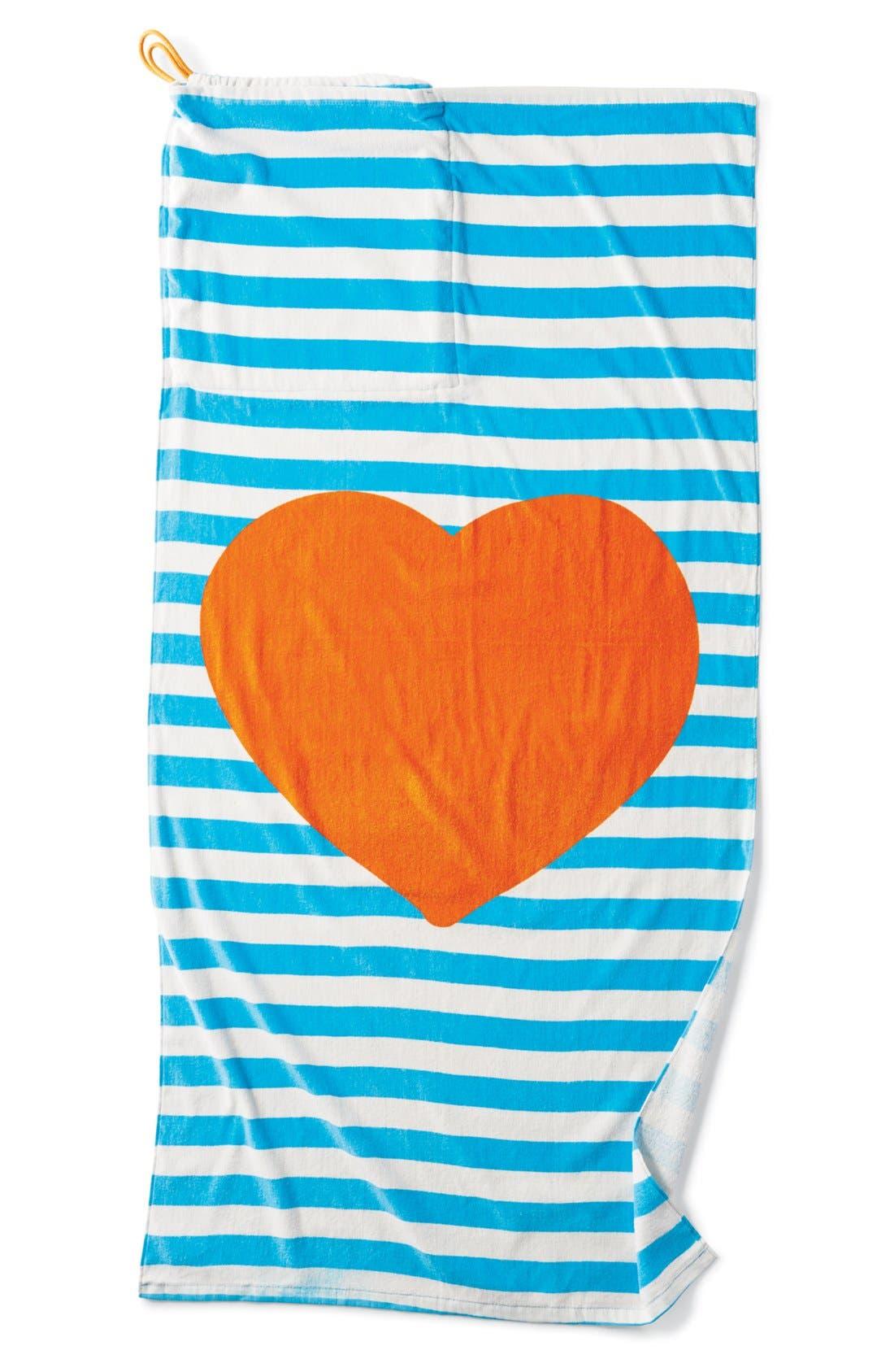 Alternate Image 1 Selected - Capelli of New York Towel Backpack (Girls)
