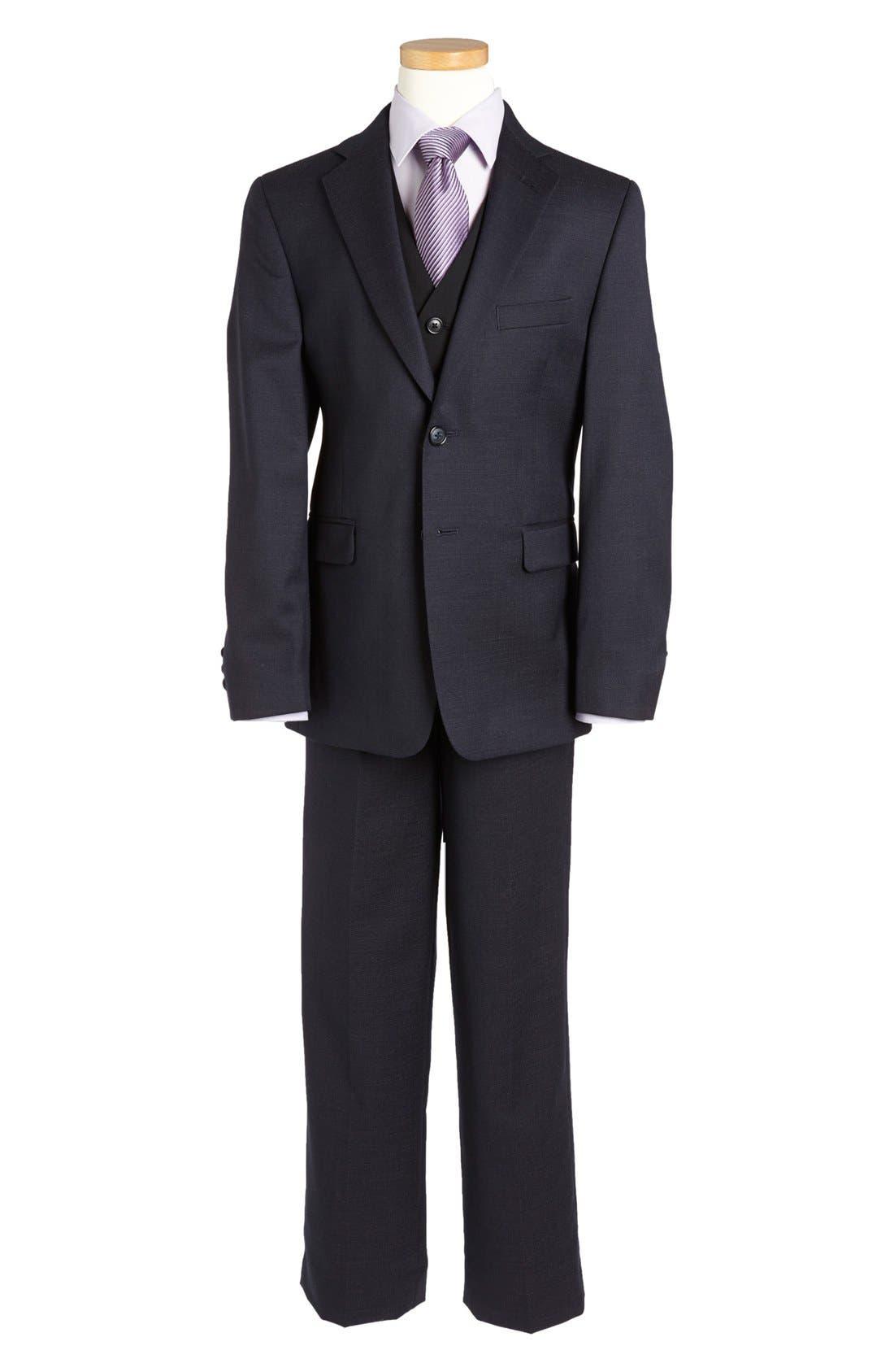 Alternate Image 2  - Joseph Abboud Suit Blazer (Big Boys)