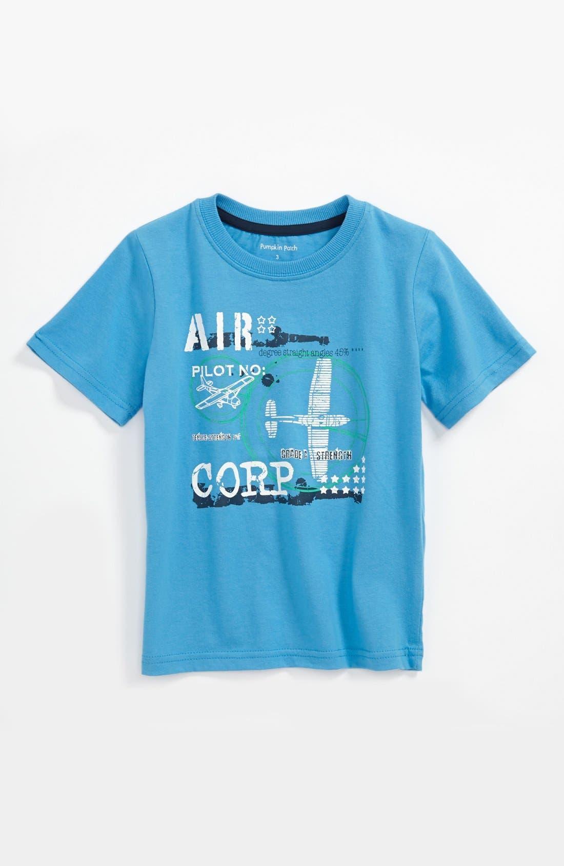 Alternate Image 1 Selected - Pumpkin Patch T-Shirt (Toddler)
