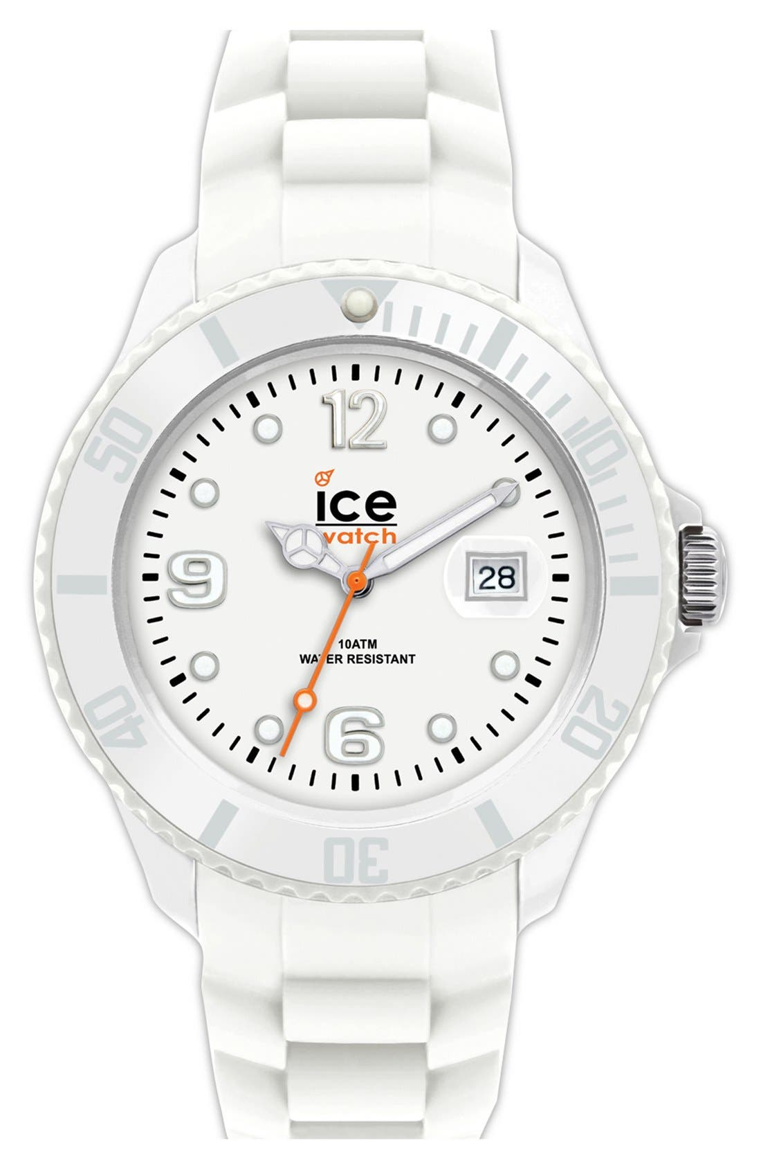 Alternate Image 1 Selected - ICE Watch 'Ice-Forever' Silicone Bracelet Watch, 48mm