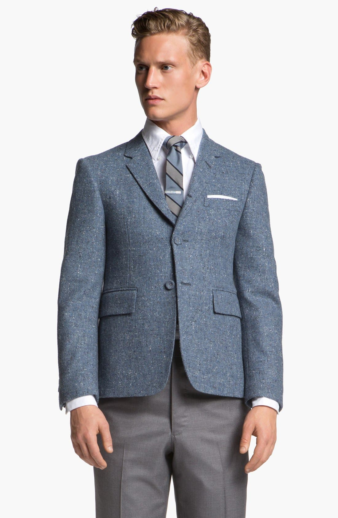 Main Image - Thom Browne Three Button Wool Sportcoat