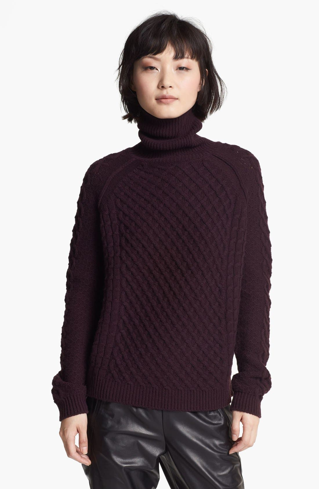 Alternate Image 1 Selected - Vince Cable Turtleneck Sweater