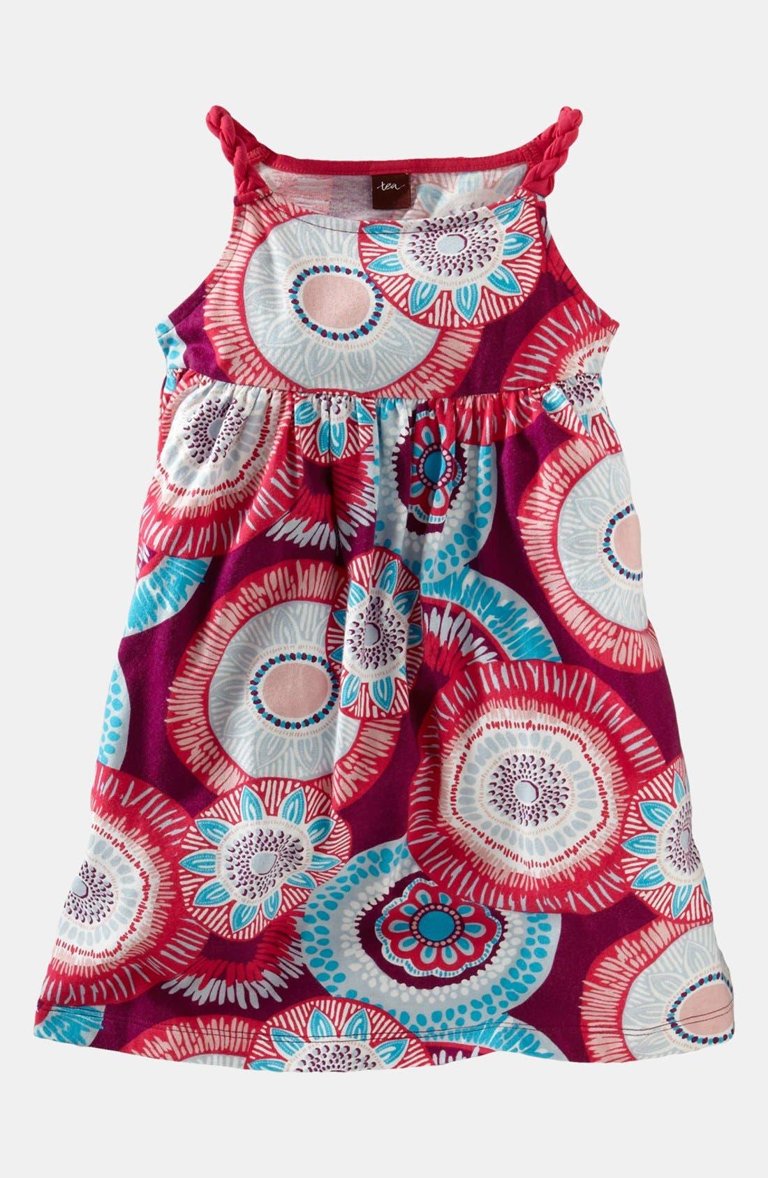 Main Image - Tea Collection 'Nova Twist' Dress (Little Girls & Big Girls)