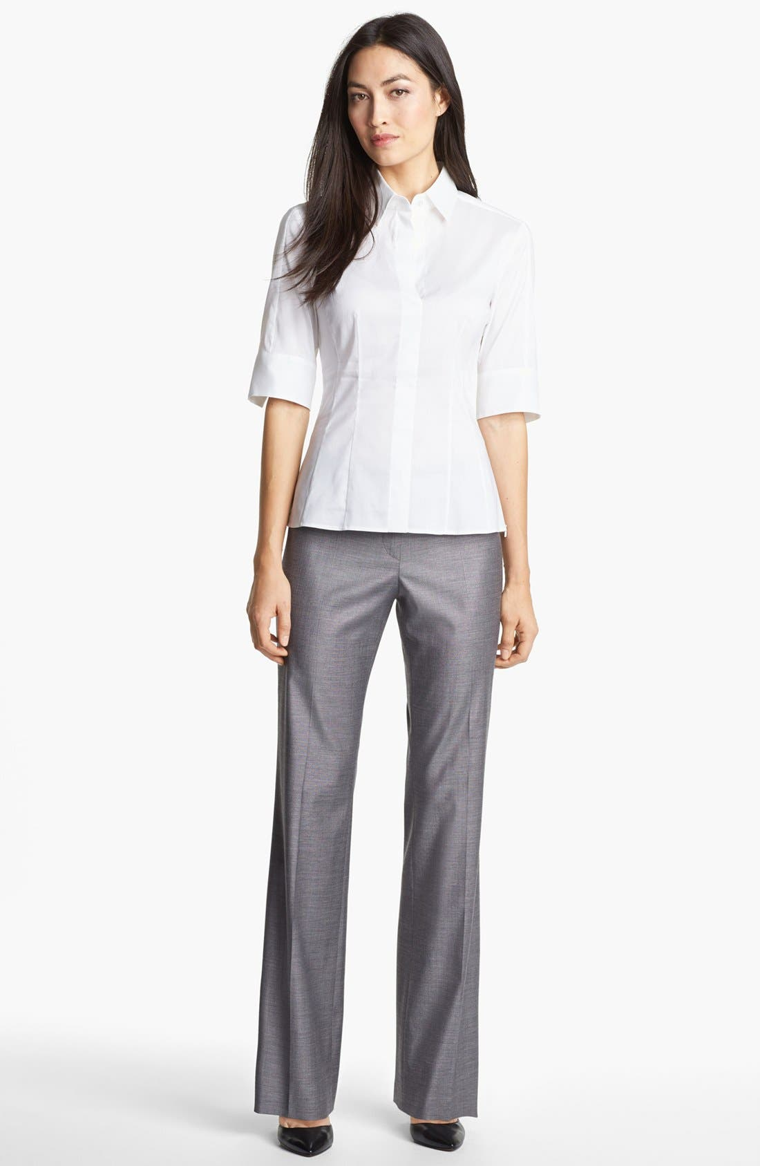 Alternate Image 4  - BOSS HUGO BOSS 'Tulia' Trousers