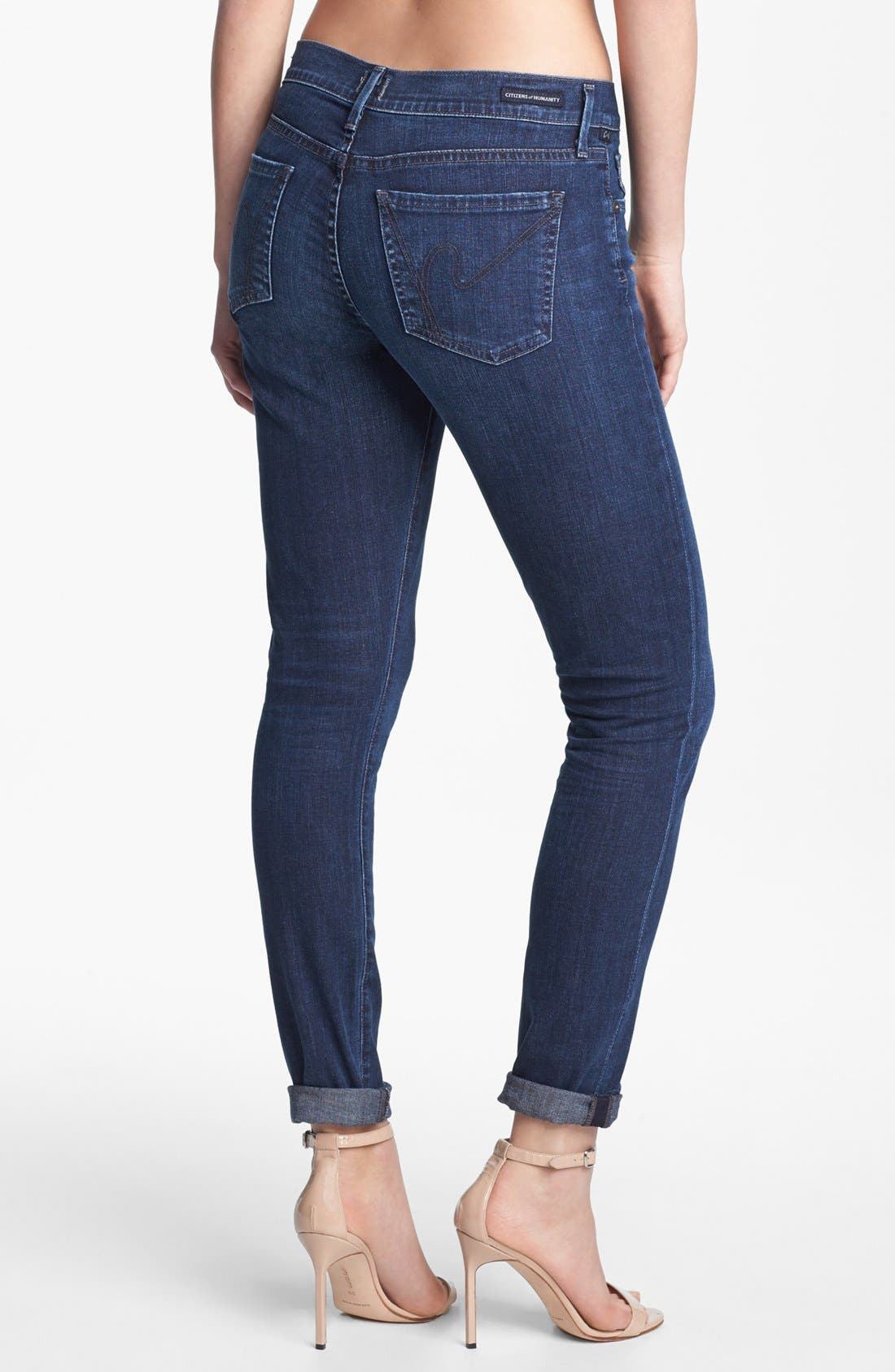 Alternate Image 2  - Citizens of Humanity Ultra Skinny Jeans (Quest)