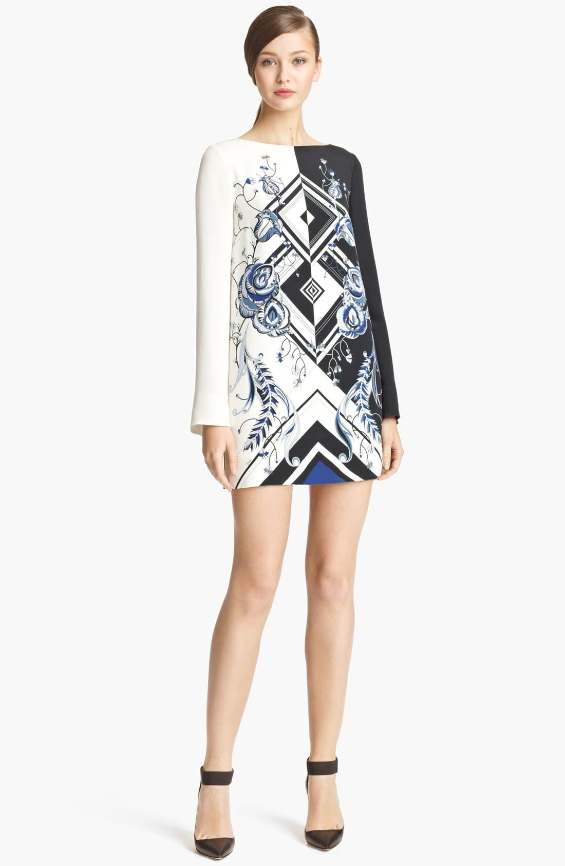 Alternate Image 1 Selected - Emilio Pucci 'Jazz' Print Silk Tunic Dress