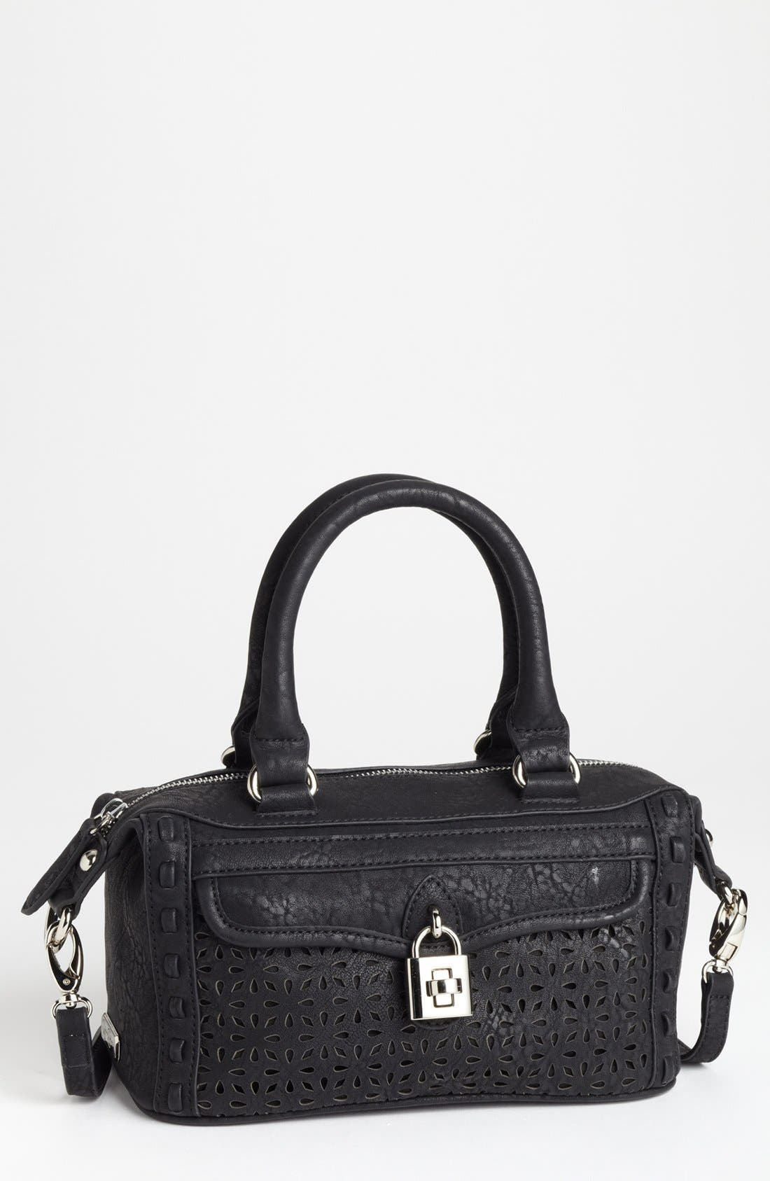 Main Image - Jessica Simpson 'Madison - Mini' Faux Leather Satchel