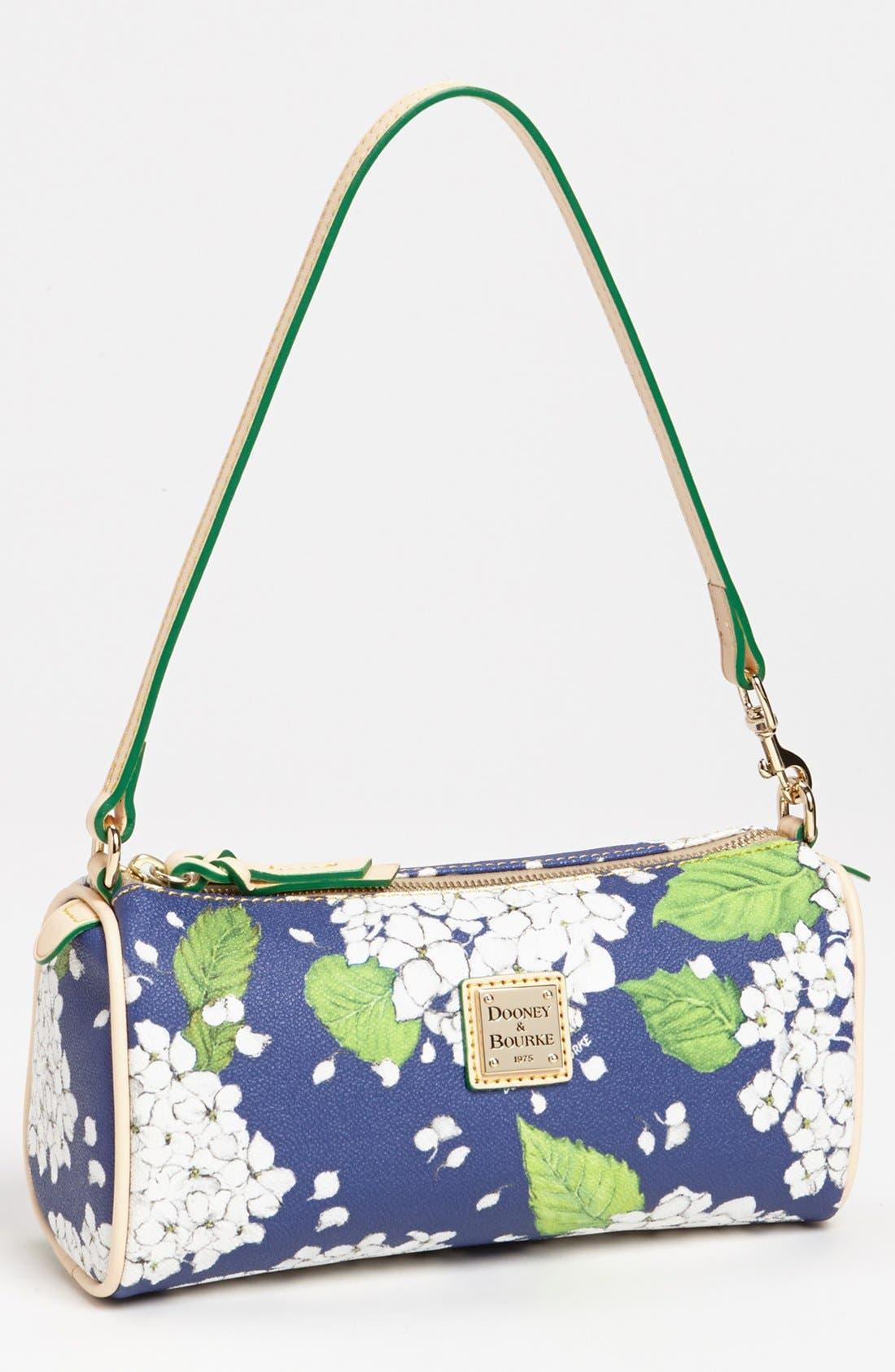 Main Image - Dooney & Bourke 'Hydrangea - Small' Barrel Shoulder Bag