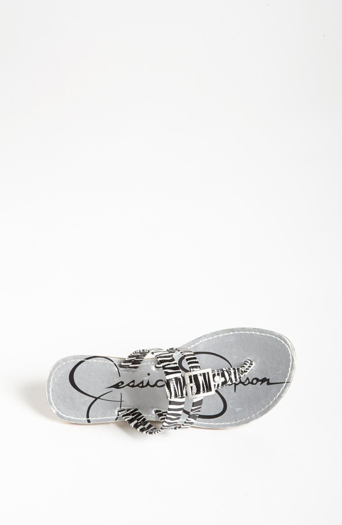 Alternate Image 3  - Jessica Simpson 'Nev' Sandal (Toddler, Little Kid & Big Kid)