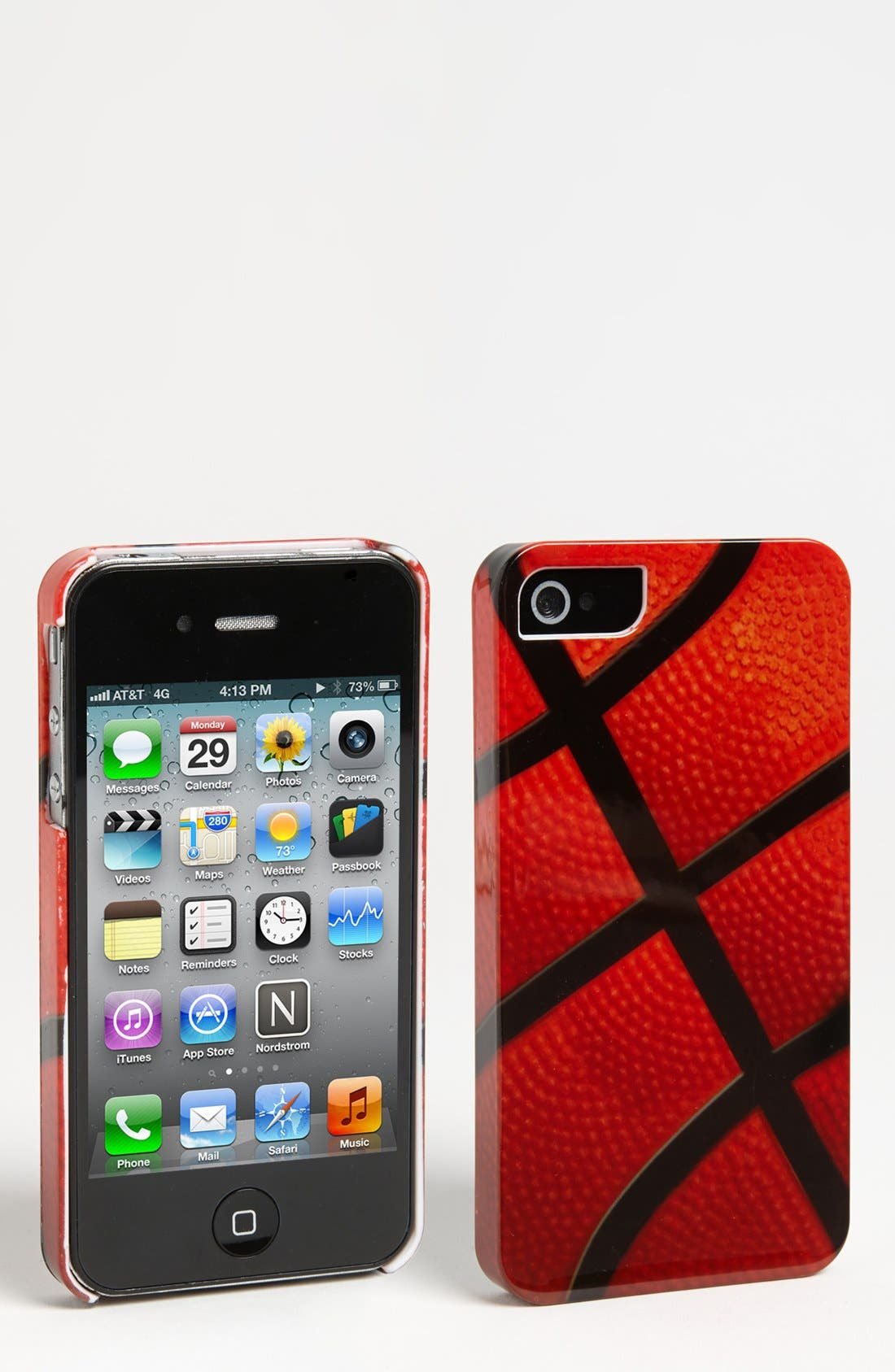 Alternate Image 1 Selected - ICover 'Basketball' iPhone 4 & 4S Case