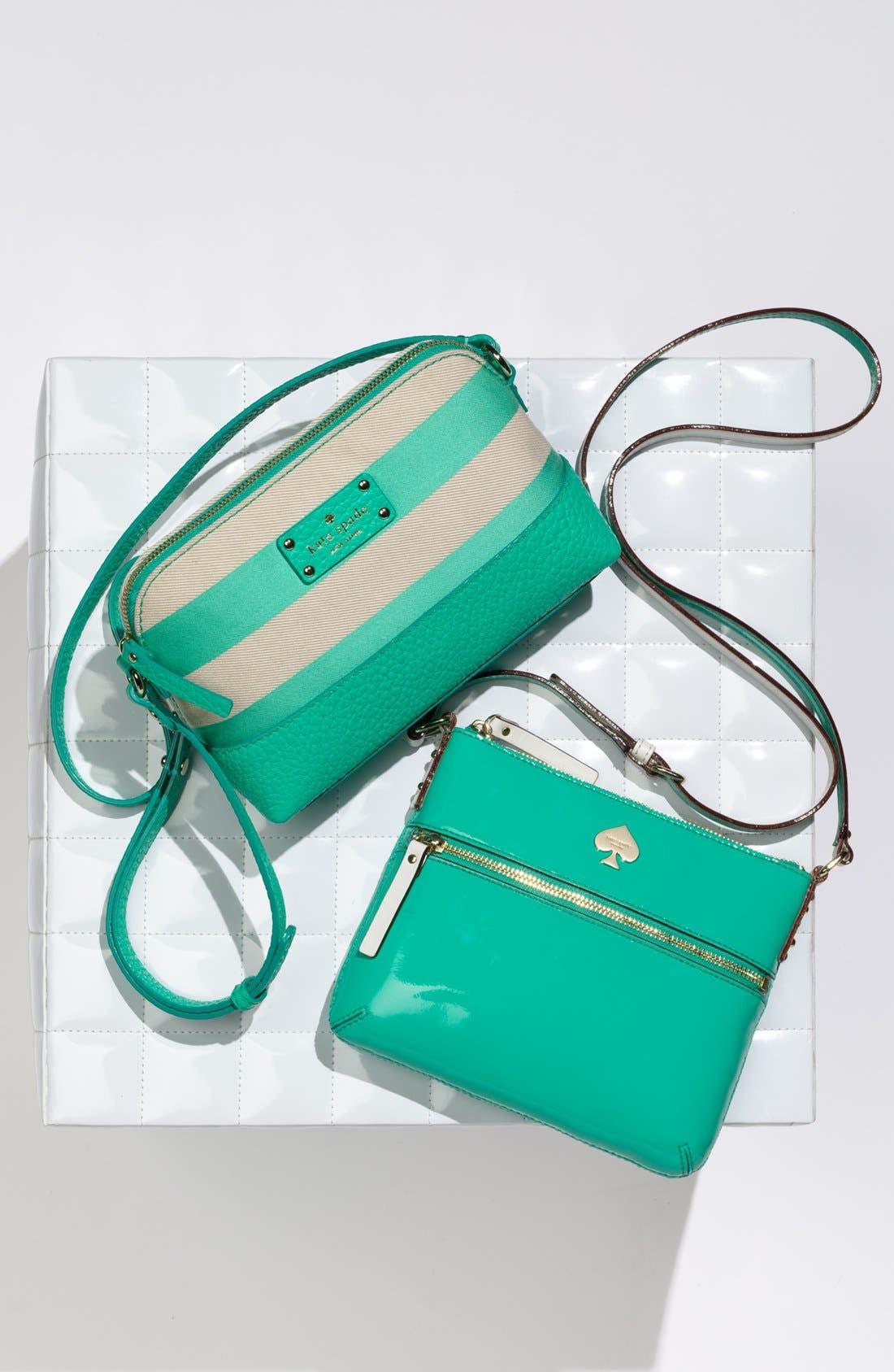 Alternate Image 5  - kate spade new york 'flicker - tenley' patent crossbody bag