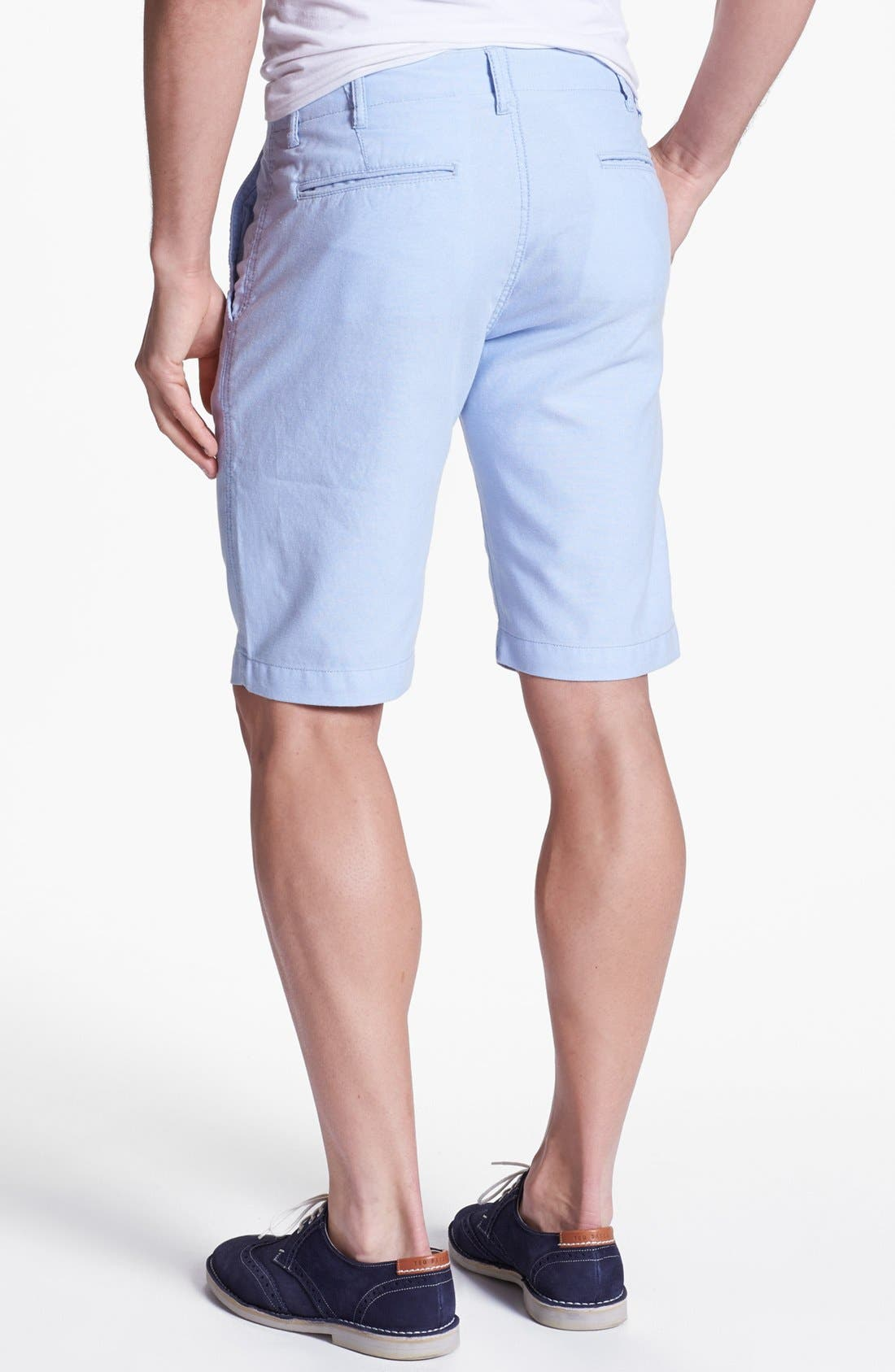 Alternate Image 2  - Façonnable Tailored Denim Bermuda Shorts