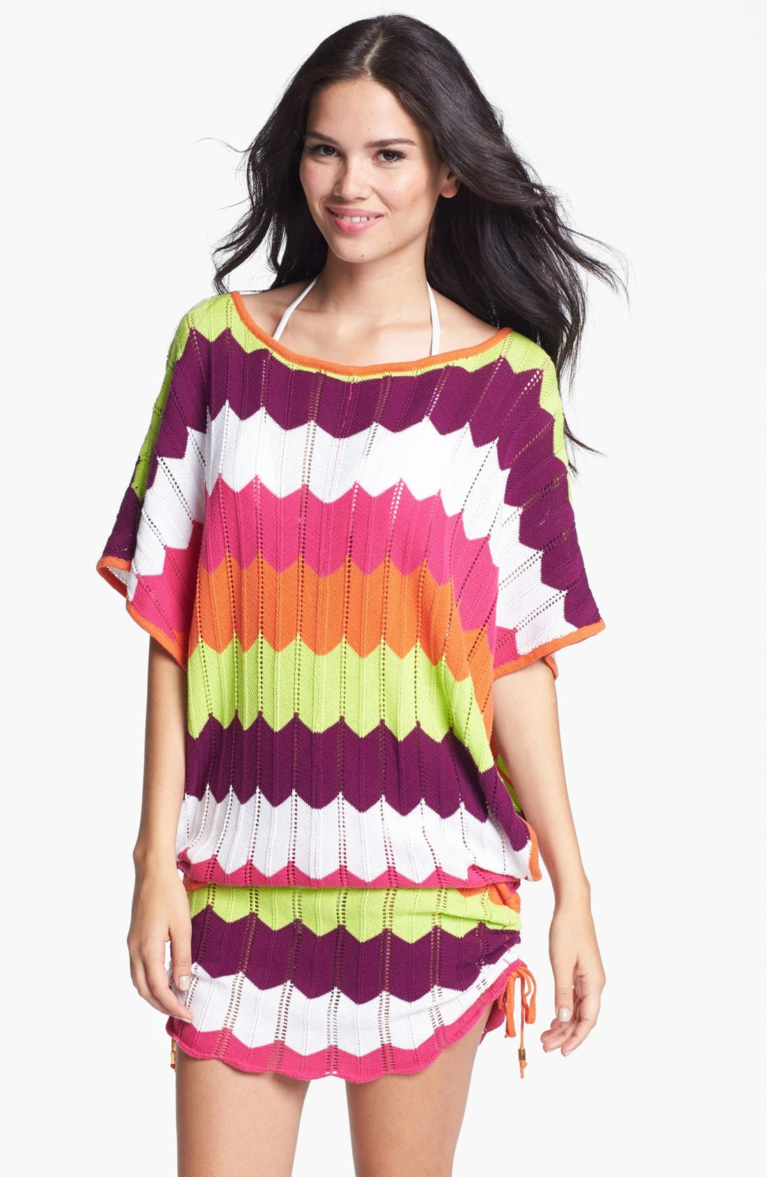 Alternate Image 1 Selected - Trina Turk Zigzag Tunic Cover-Up