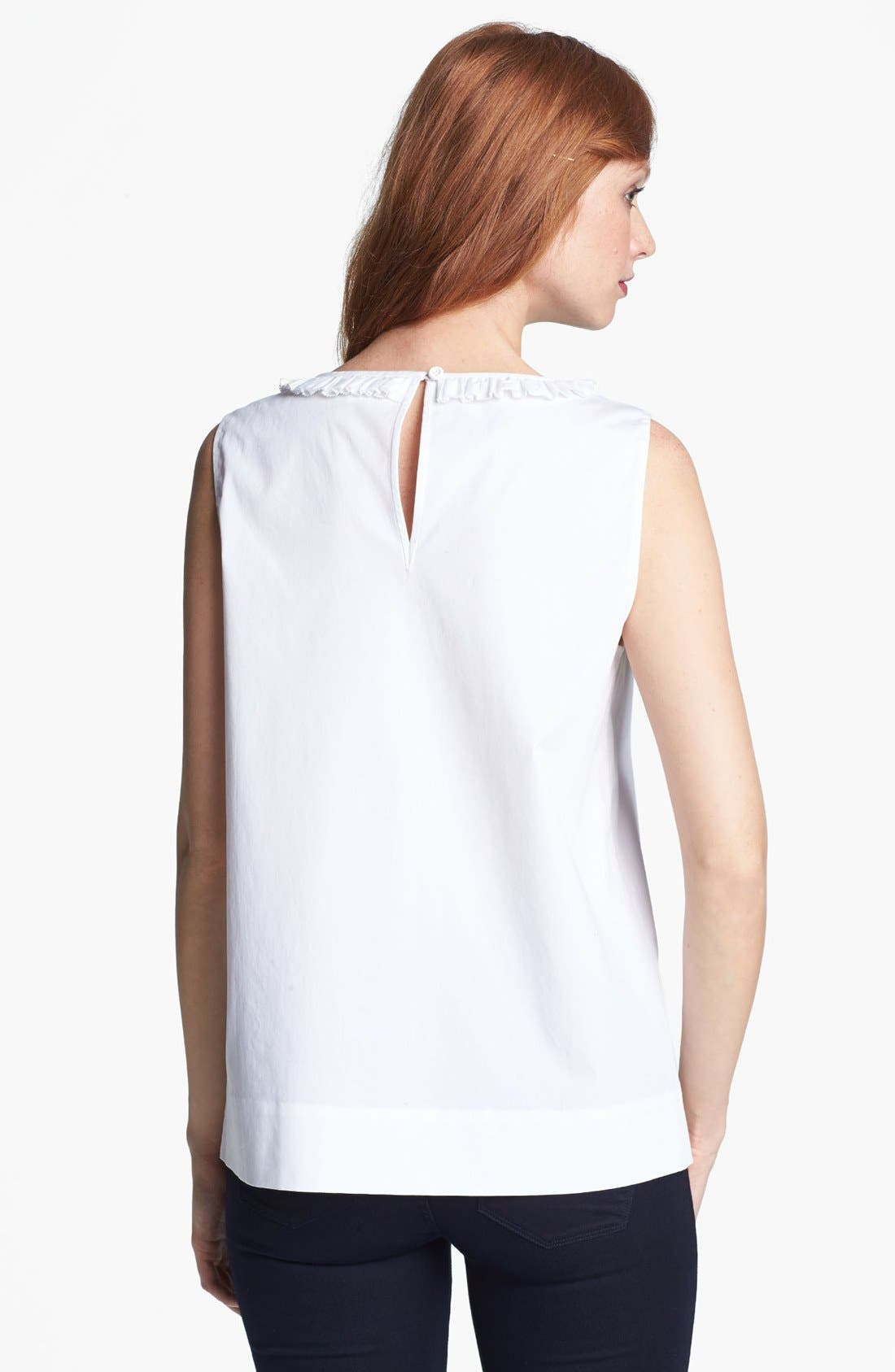 Alternate Image 2  - kate spade new york 'estella' stretch cotton top