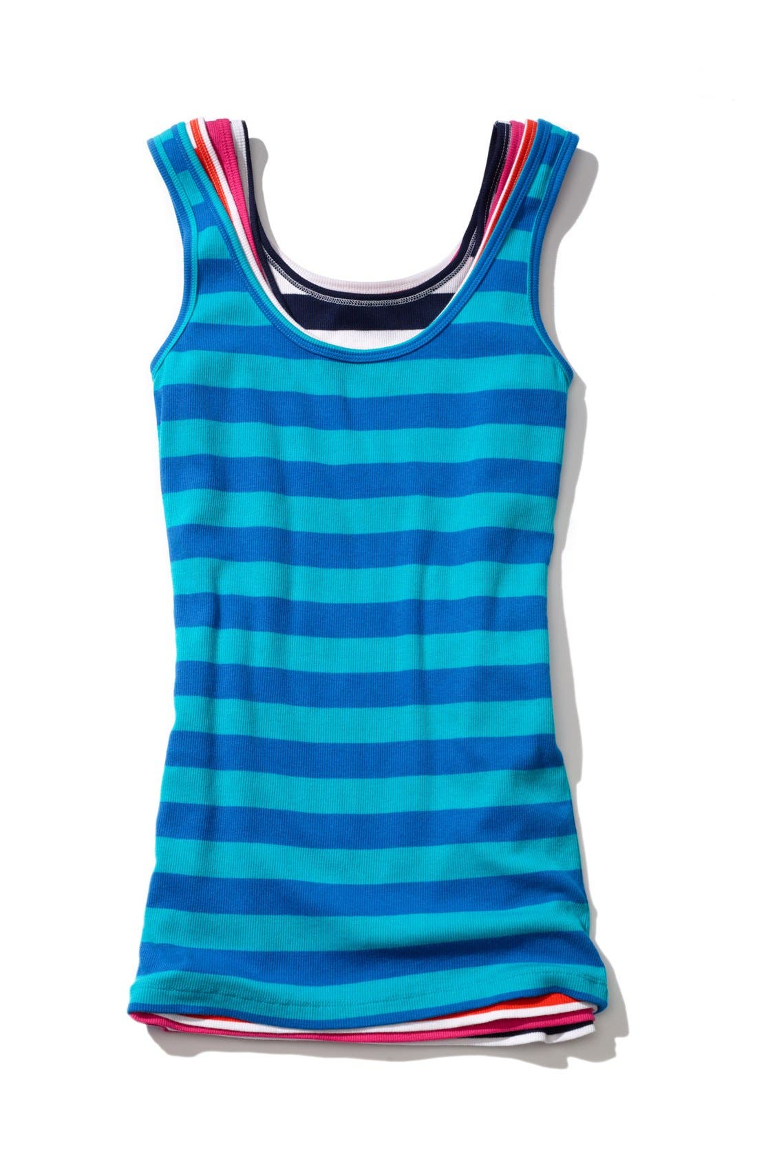 Alternate Image 4  - Caslon® Ribbed Tank