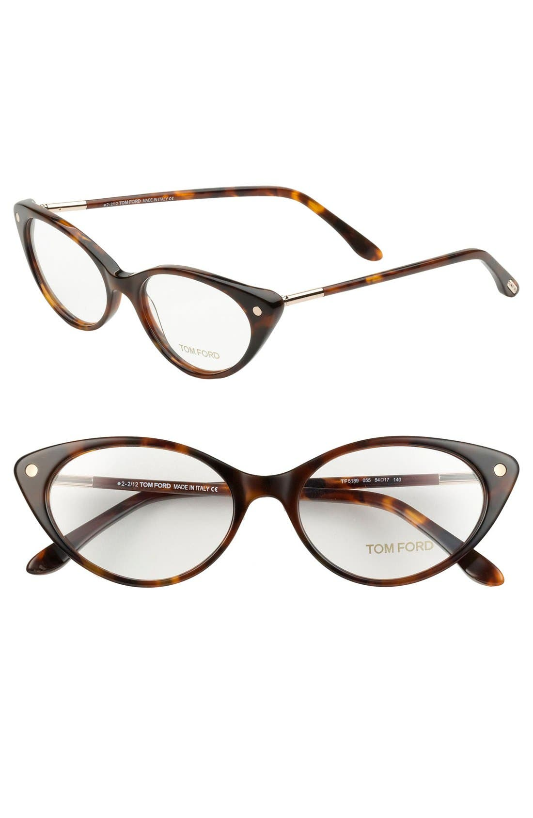 Alternate Image 1 Selected - Tom Ford 54mm Optical Glasses (Online Only)