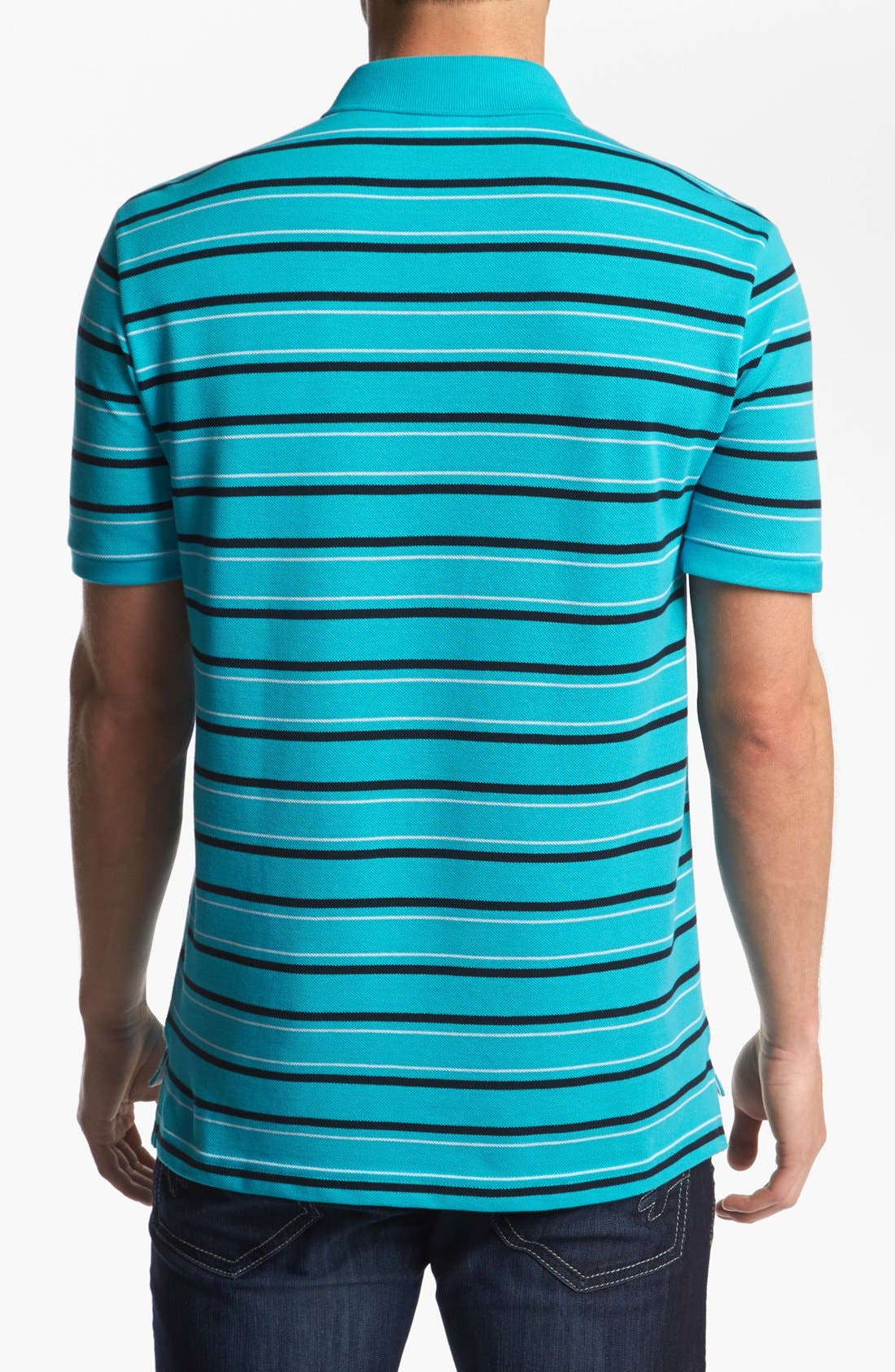 Alternate Image 2  - Lacoste Stripe Piqué Polo