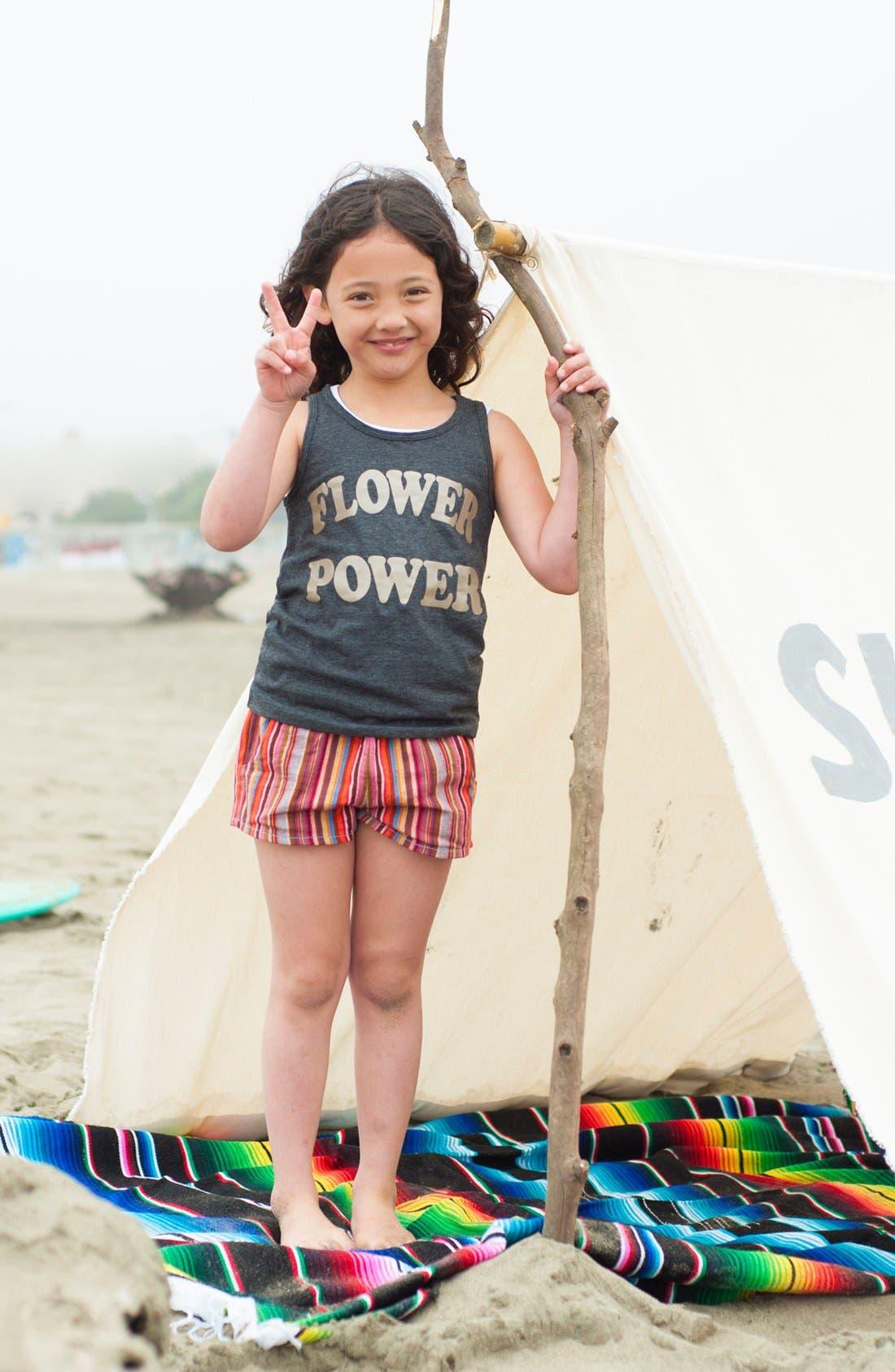 Alternate Image 2  - Peek 'Maya' Shorts (Toddler, Little Girls & Big Girls)
