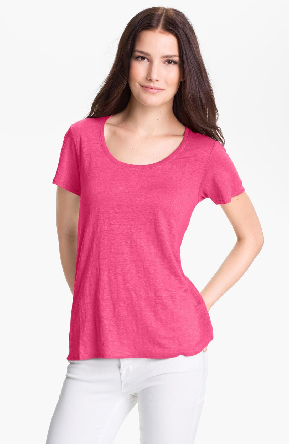 Alternate Image 1 Selected - Eileen Fisher 'Lucky' Tee