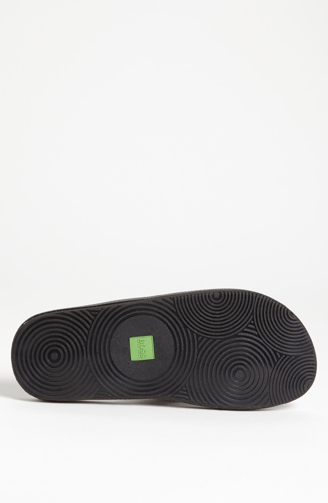 Alternate Image 4  - BOSS Green 'Shoreline' Flip Flop