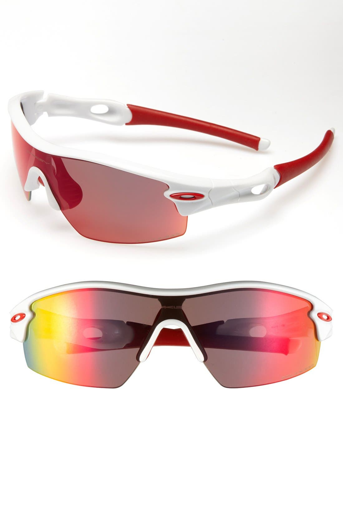 Alternate Image 1 Selected - Oakley 'Radar Pitch' Polarized Sunglasses
