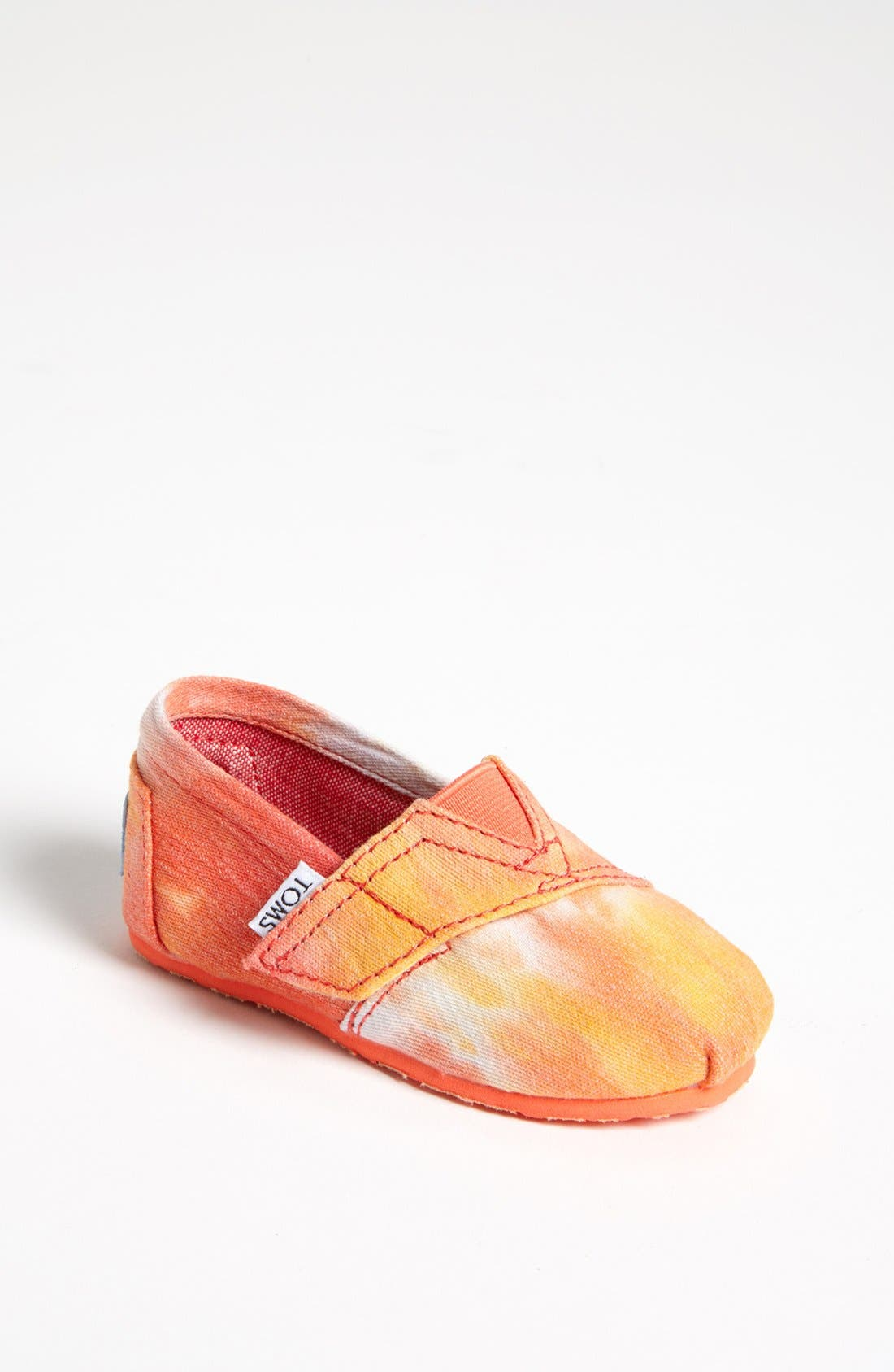 Main Image - TOMS 'Classic Tiny - Tie Dye' Slip-On (Baby, Walker & Toddler) (Nordstrom Exclusive)