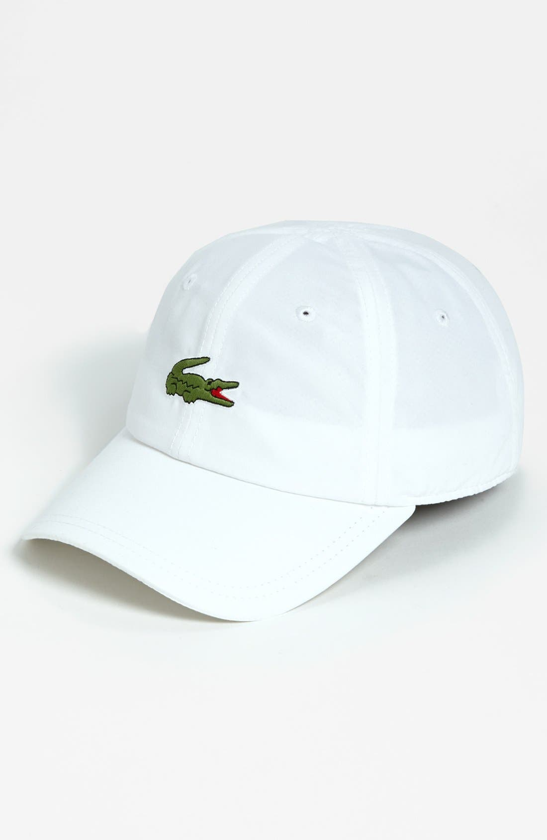 Alternate Image 1 Selected - Lacoste 5cm 'Croc' Cap